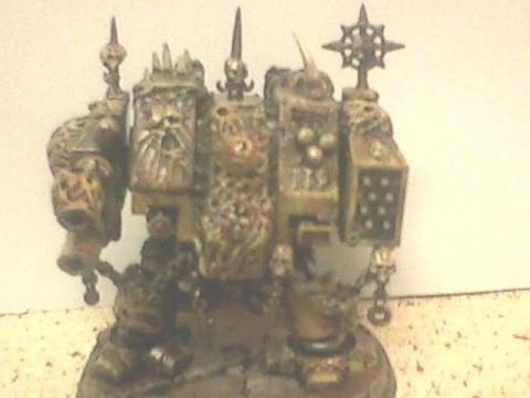 Chaos Dreadnought, Chaos Space Marines, Conversion, Death Guard, Nurgle, Plague Marines, Warhammer 40,000
