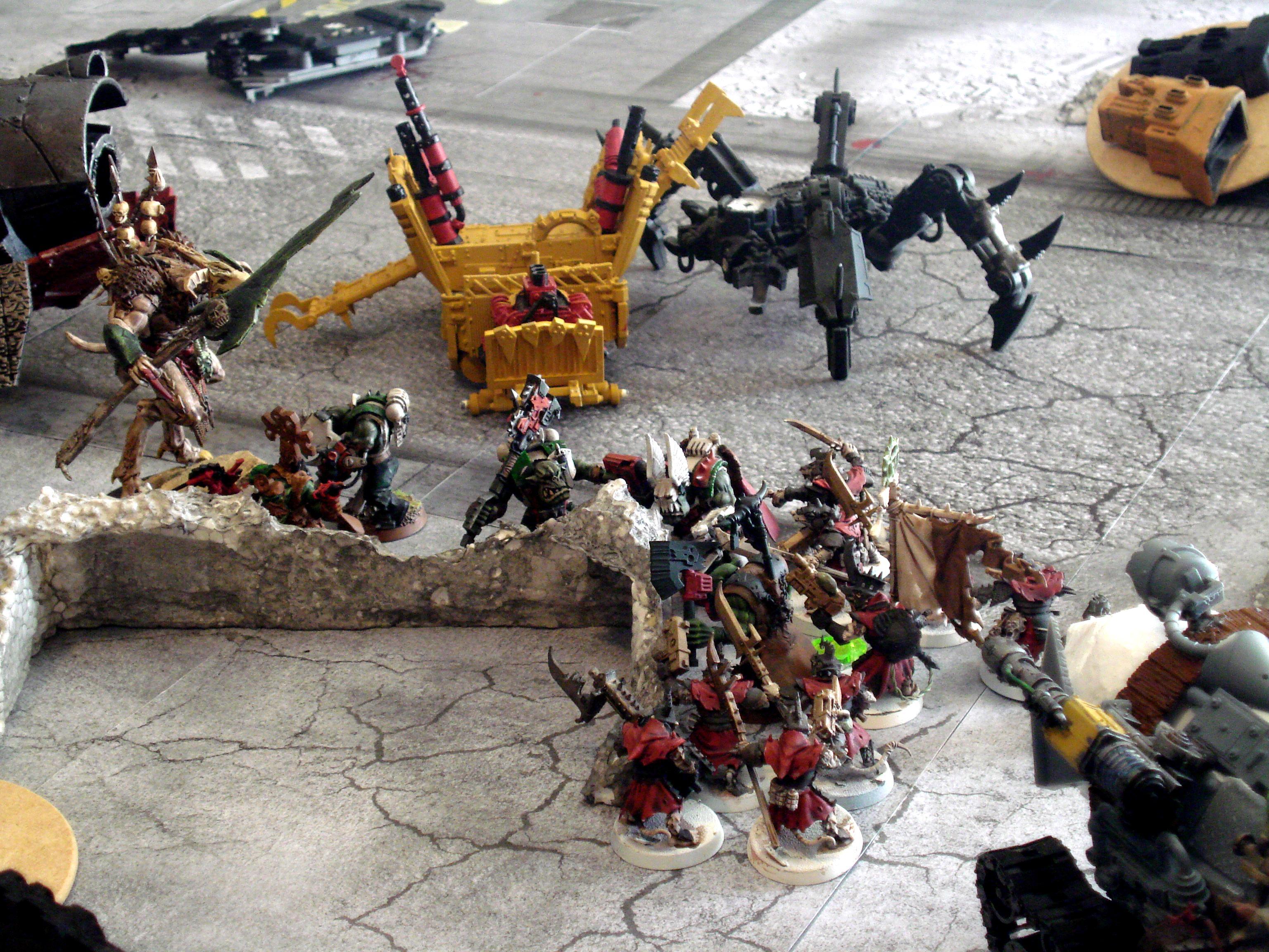 Daemons, Orks, combat 9