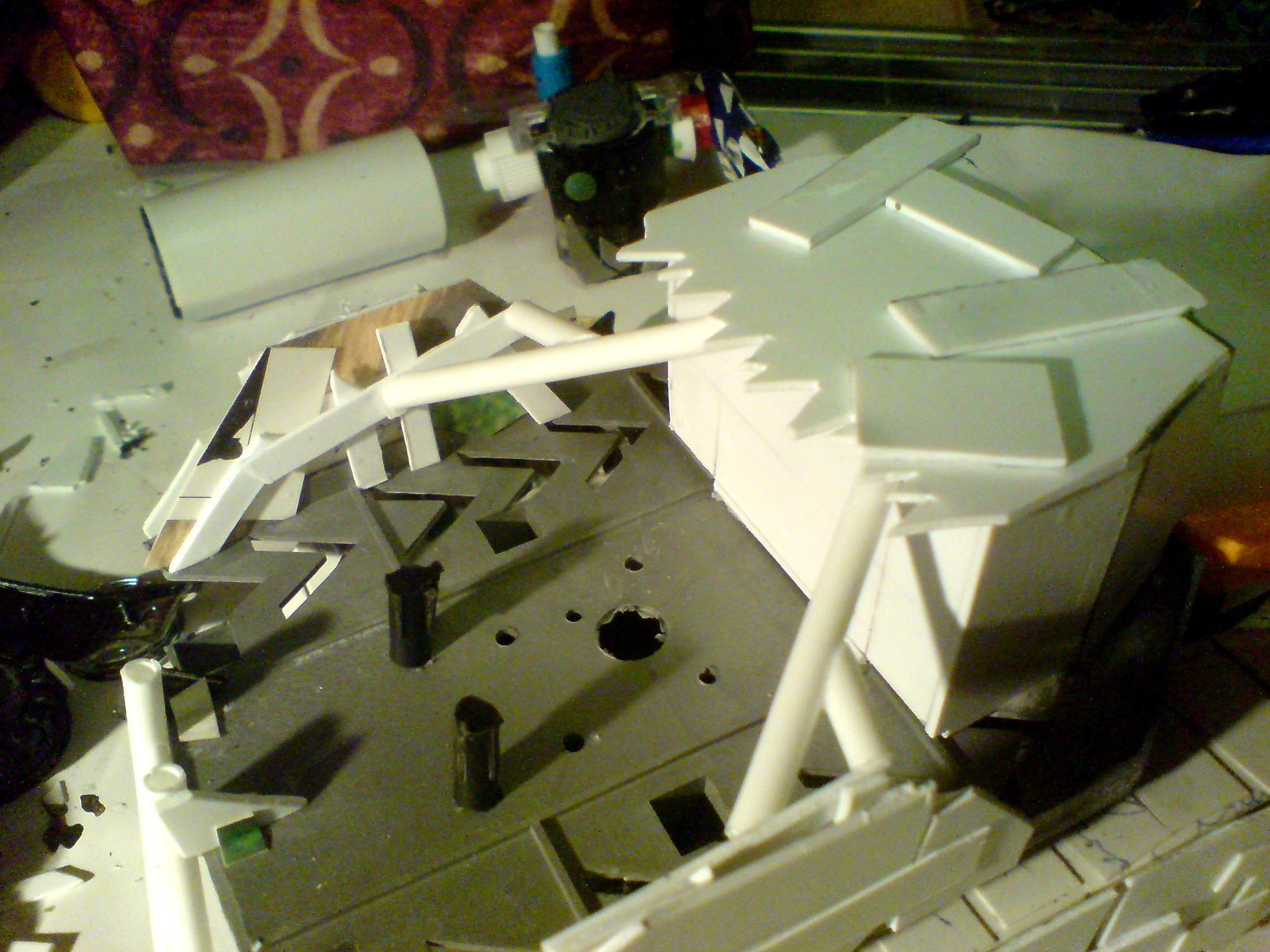 Battlewagon, Orks, Scratch Build