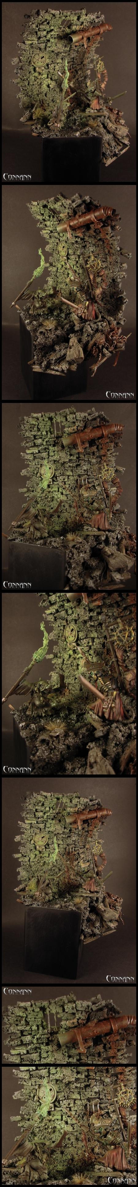 Duel, Hero, Rat, Skaven, Terrain, Warhammer Fantasy