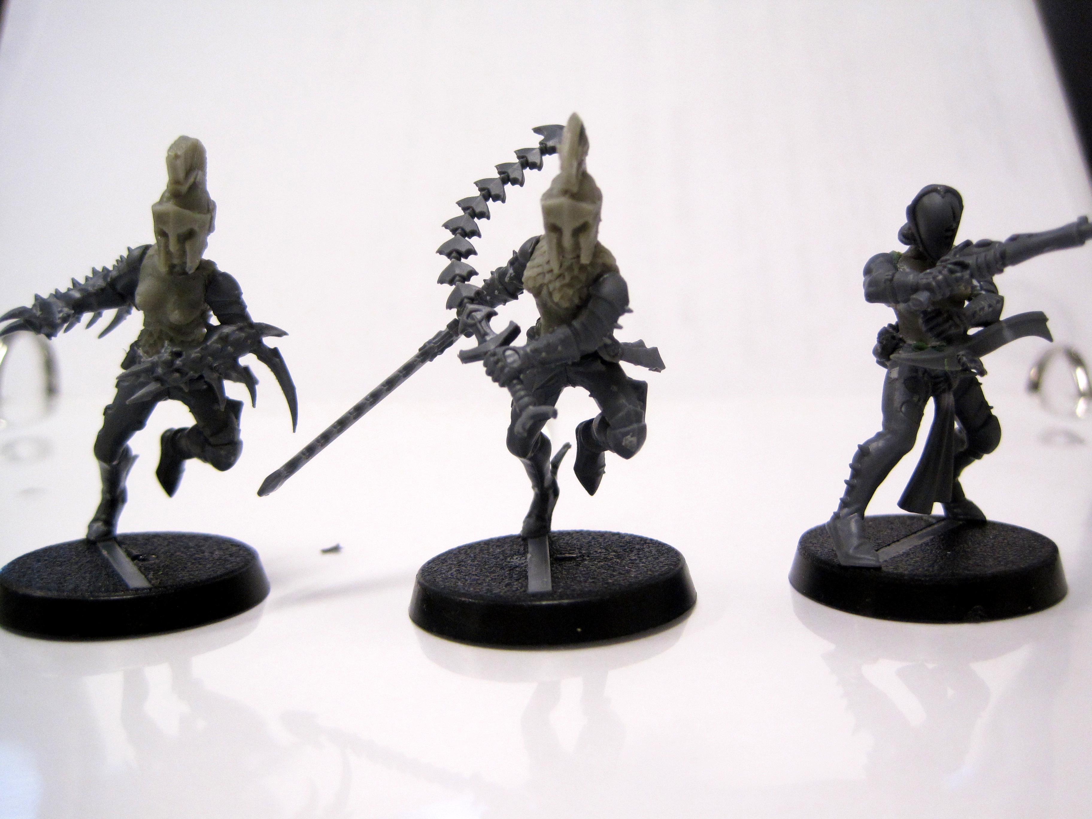 Conversion, Dark Eldar, Sisters Of Silence, Work In Progress