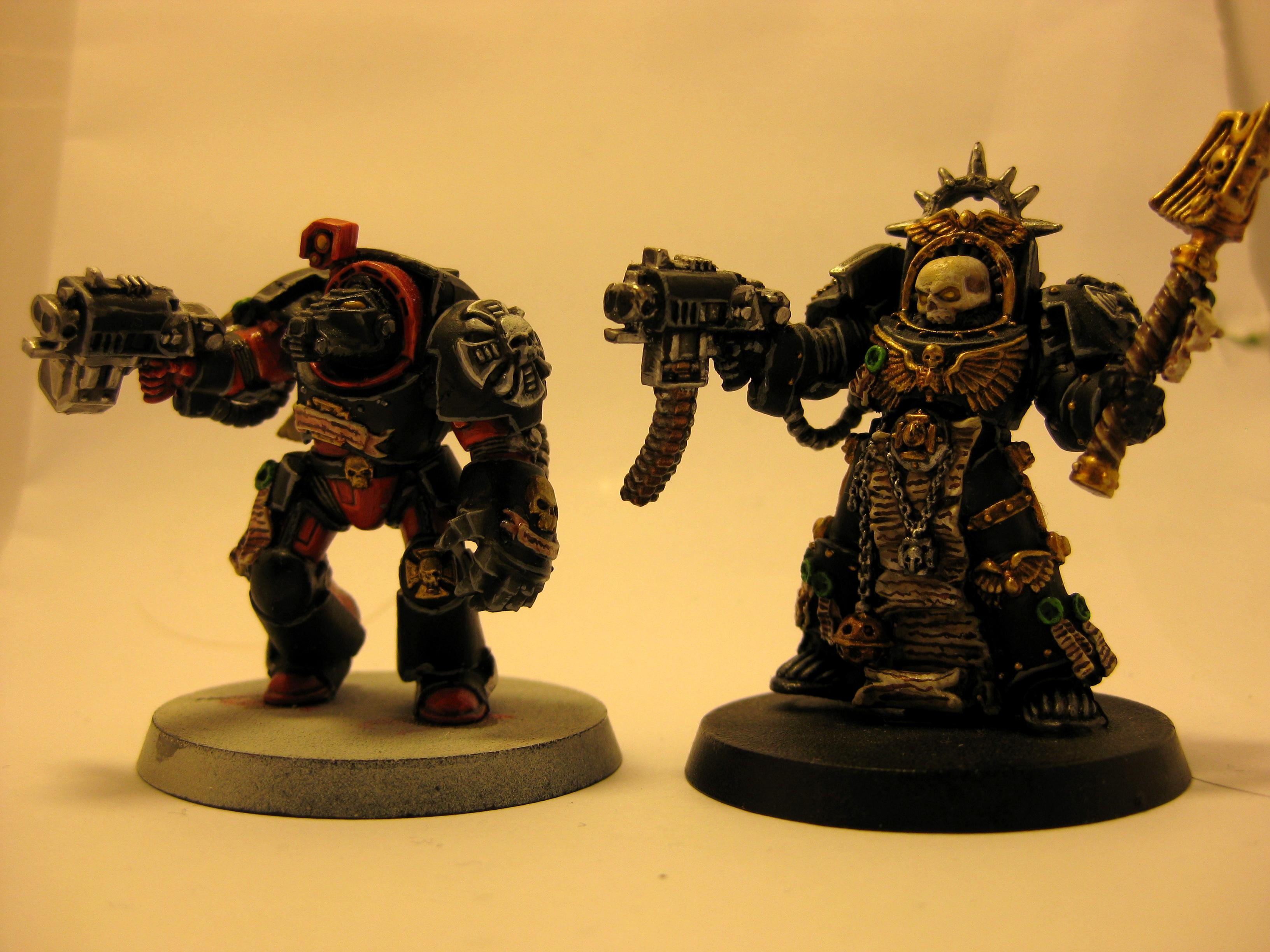 Blood Angels, Chaplain, Flesh Tearer, Terminator Armor, Warhammer 40,000