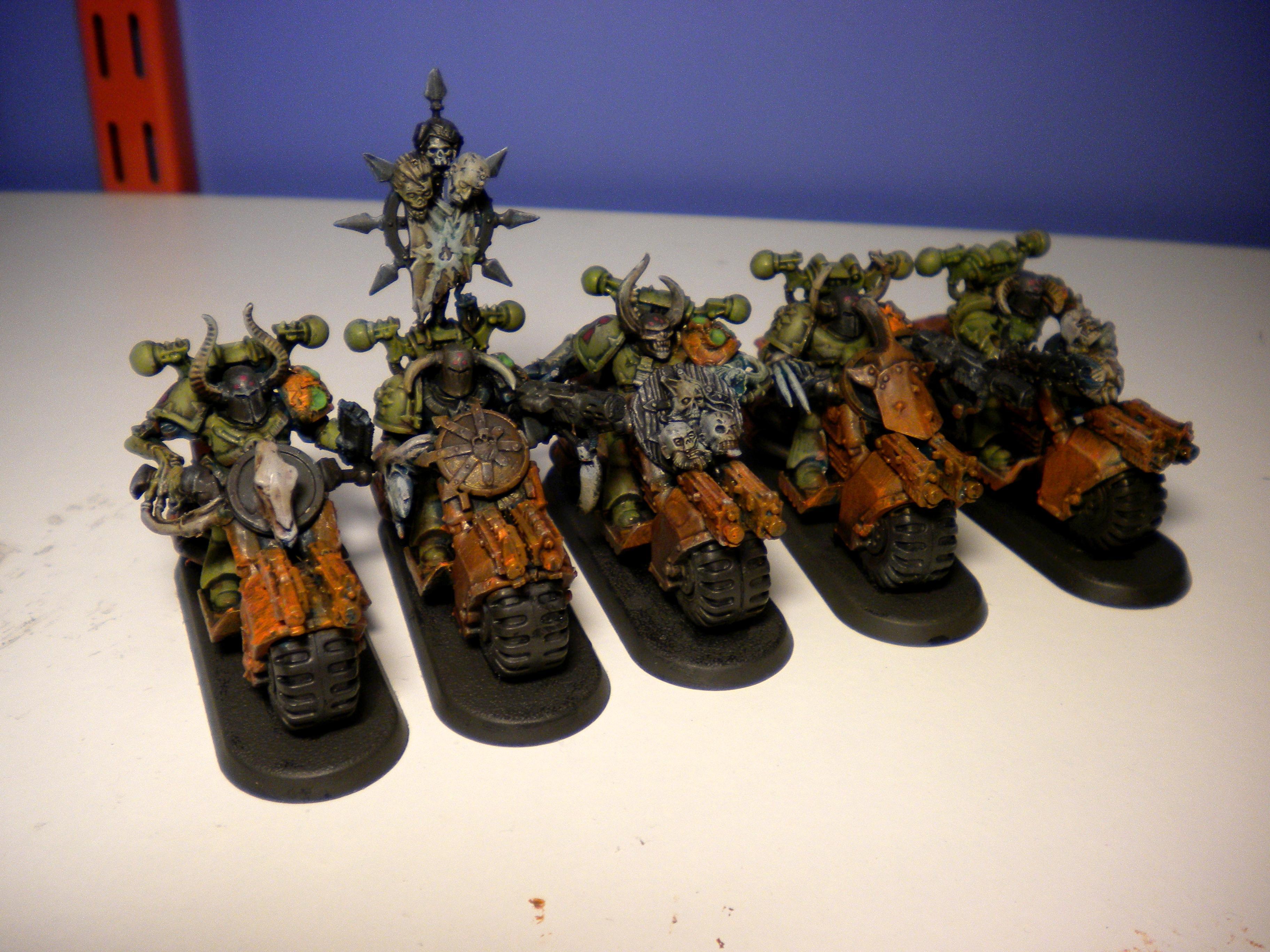 Chaos, Chaos Army, Chaos Rhino, Conversion, Daemon Prince, Defiler, Nurgle, Nurgle Army, Plague Marines