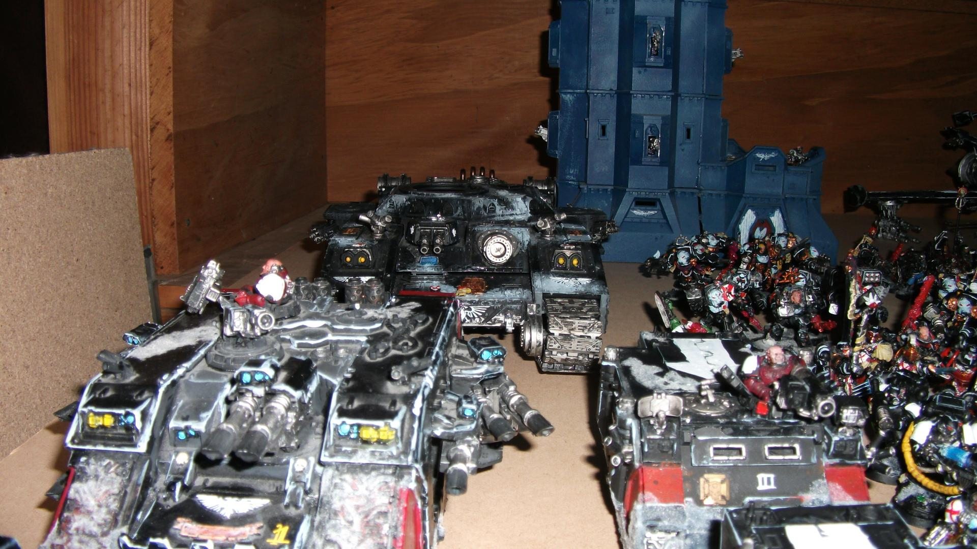 Army, Black Templars, Space Marine Army, Space Marines, Tank