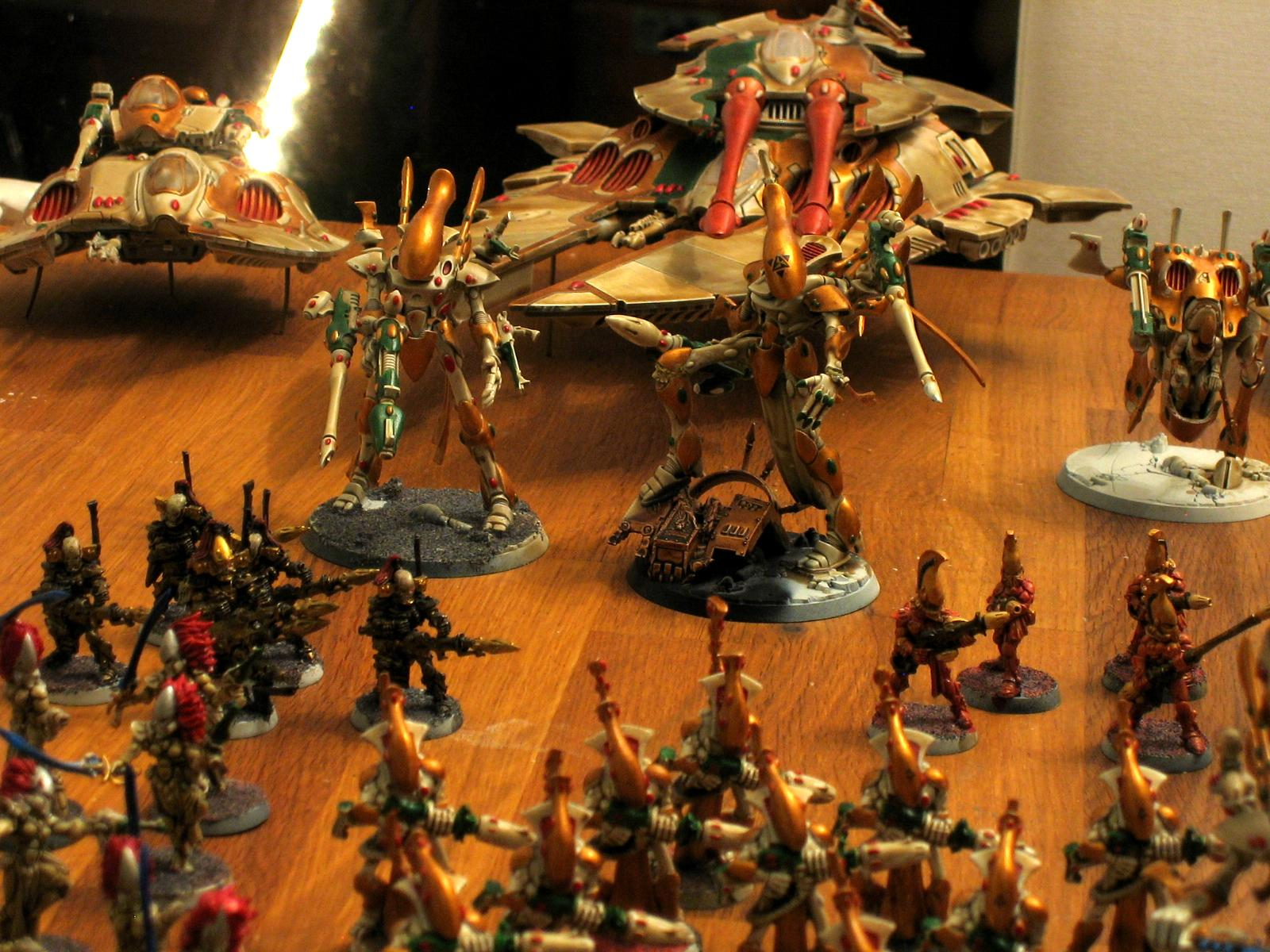 Eldar Craftworld, Heavy, Scorpion, Wraithlord