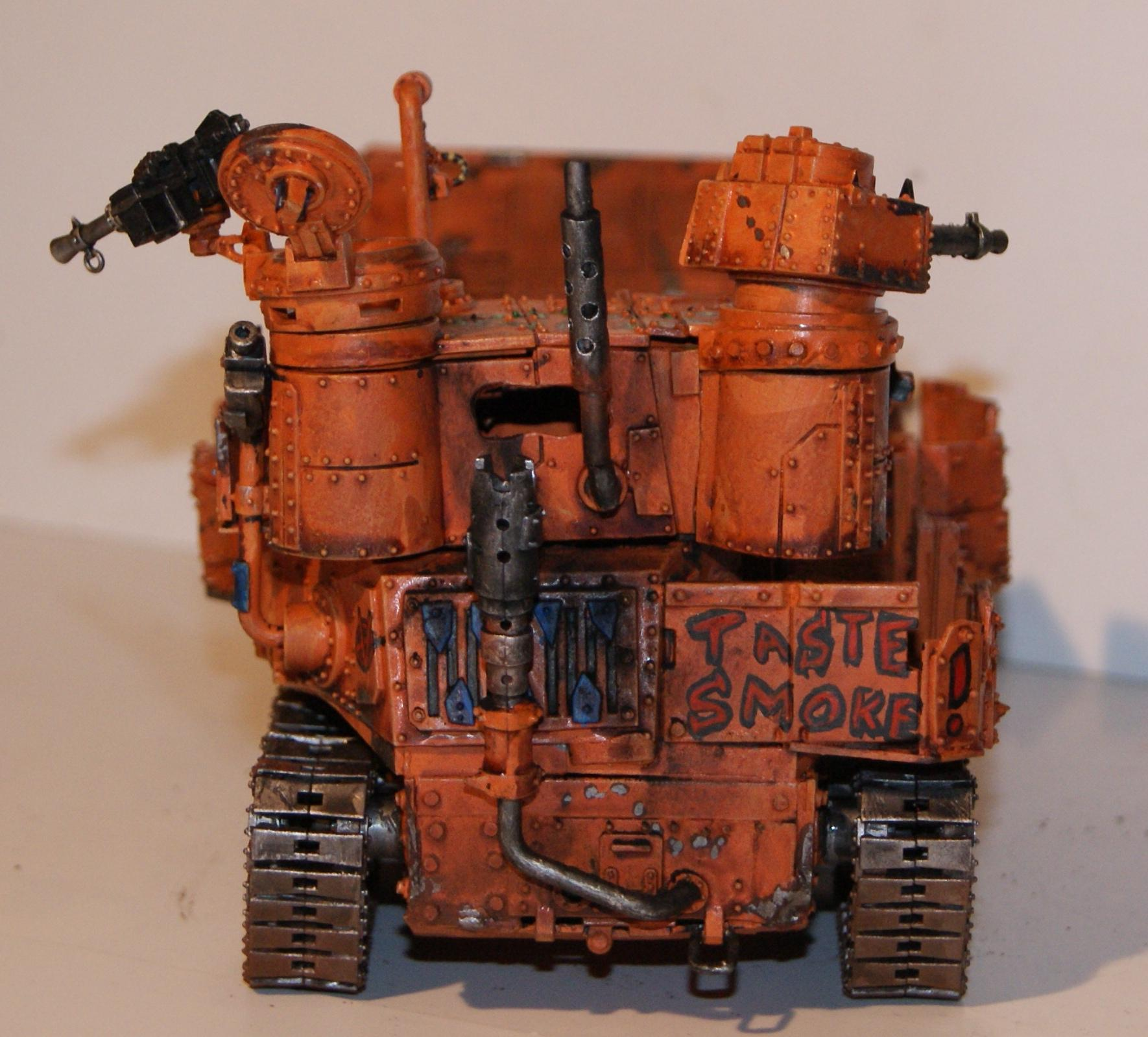 Battlewagon, Conversion, Grot Rebellion, Grot Rebels, Warhammer 40,000, Work In Progress