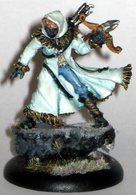 Arcanists, December, December Acolyte, Malifaux, Malifaux Arcanists December Acolyte, Rasputina