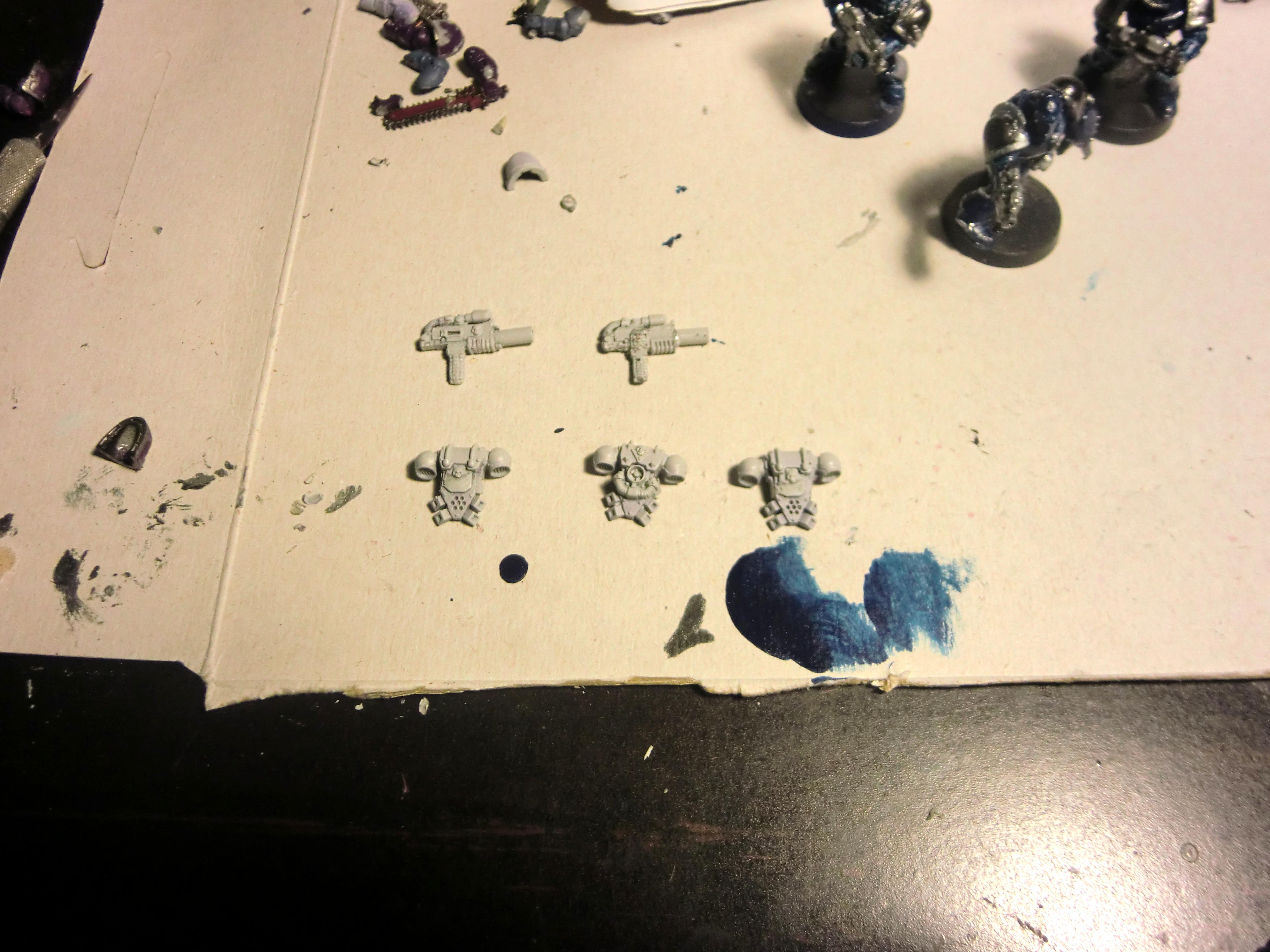 WIP Bolters/Backpacks