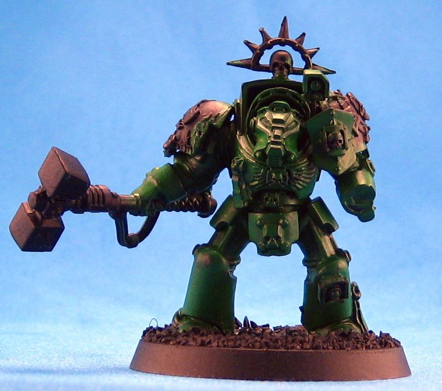 Conversion, Salamanders, Space Marines, Warhammer 40,000