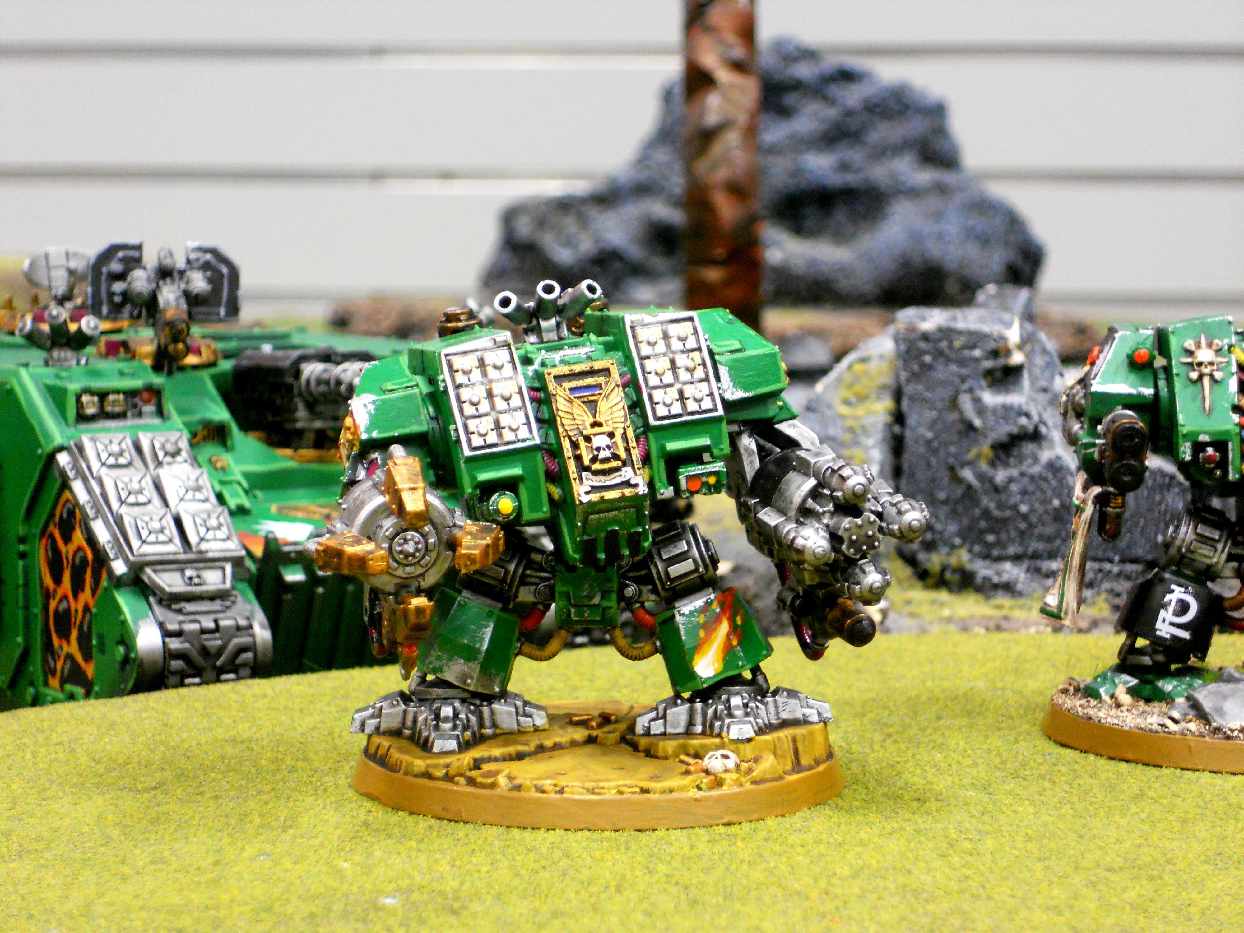 Ironclad, Salamanders, Space Marines