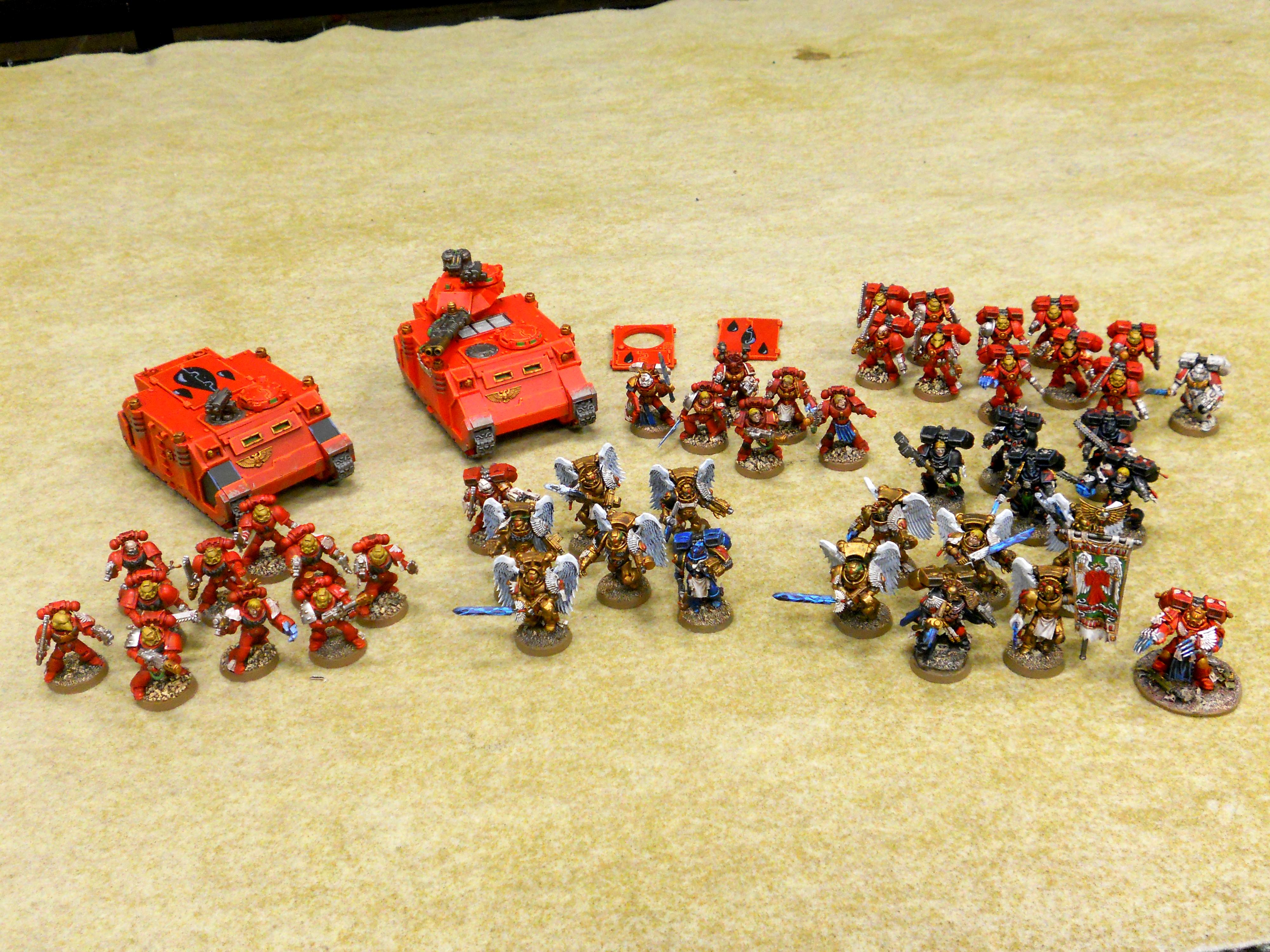 Army, Blood Angels, Captain, Dante, Priest, Red, Sanguinary Guard, Space Marines, Warhammer 40,000