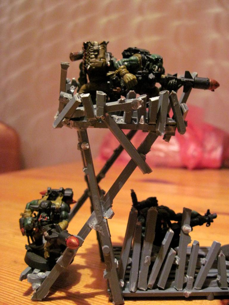 Orks, Scratch Build, Sprue, Terrain, Watchtower
