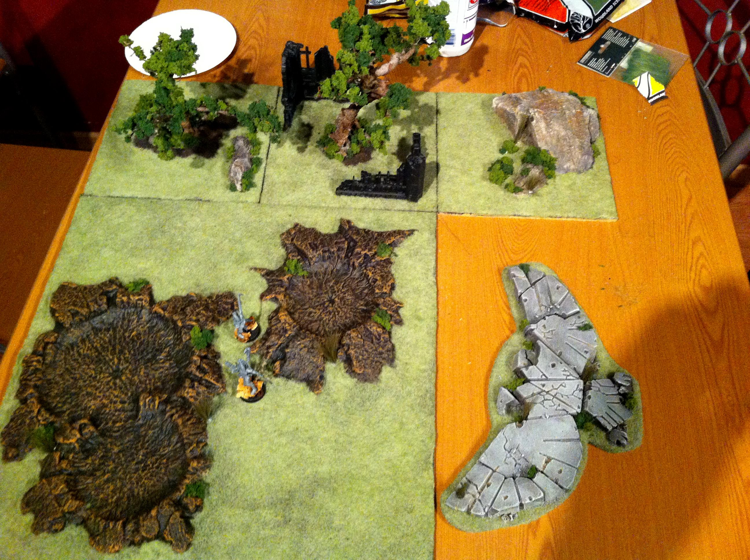 Ffghjjjj, Modular, Terrain, Warhammer 40,000, Work In Progress