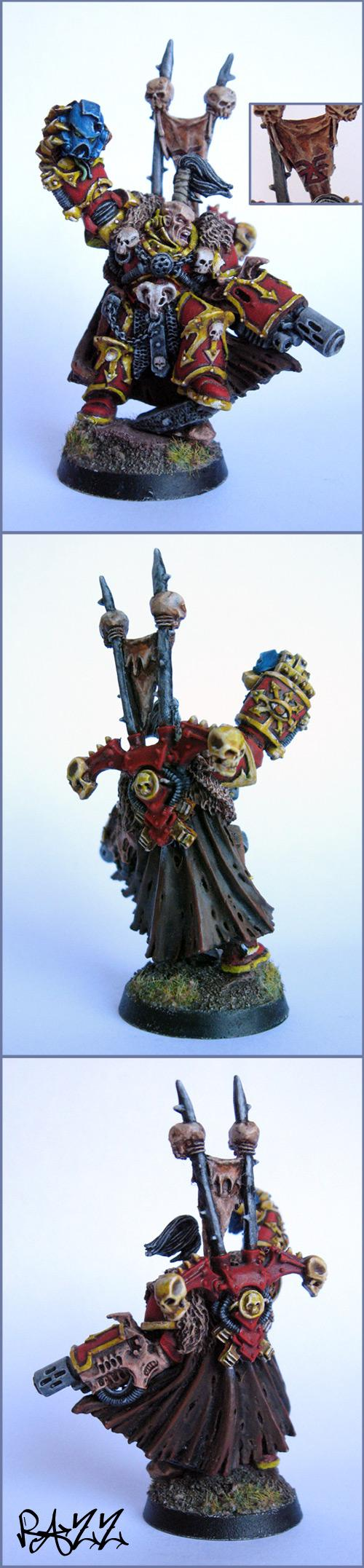 Chaos Lord, Chaos Space Marines, Headquarters, Warhammer 40,000