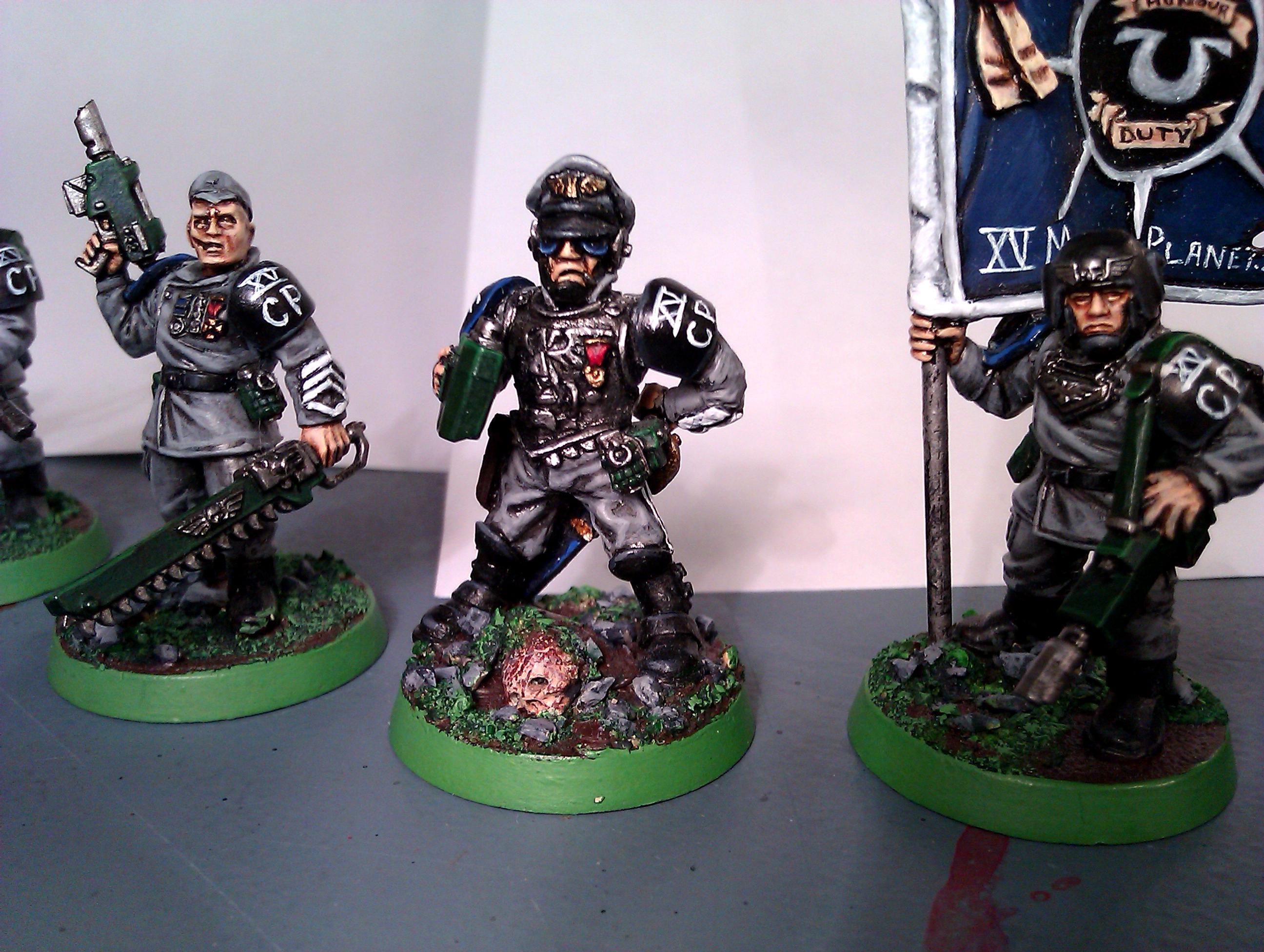Captain, Ccs, Command Squad, Imperial Guard