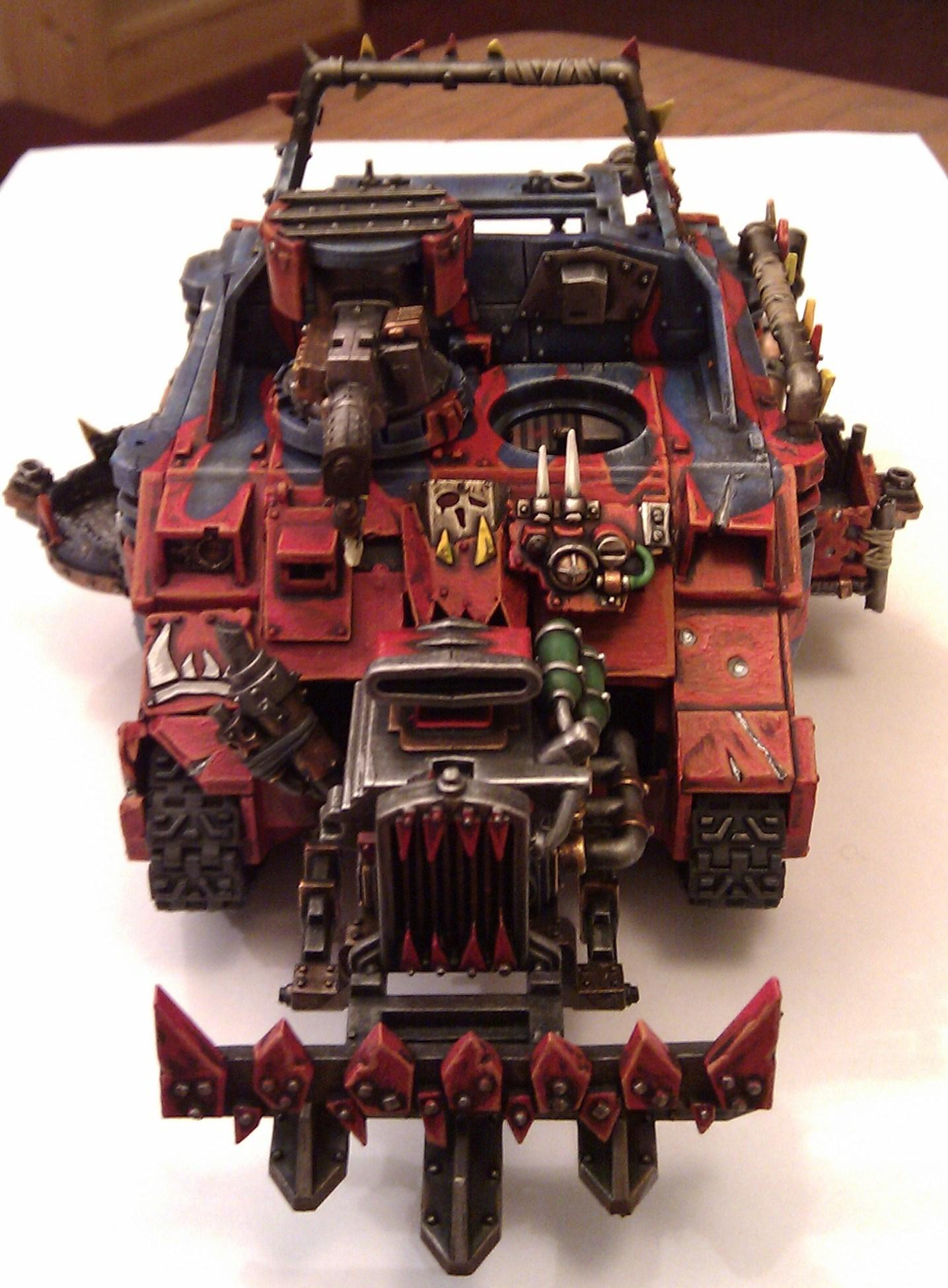 Conversion, Looted Wagon, Mekboy Junka, Orks, Rhino, Work In Progress
