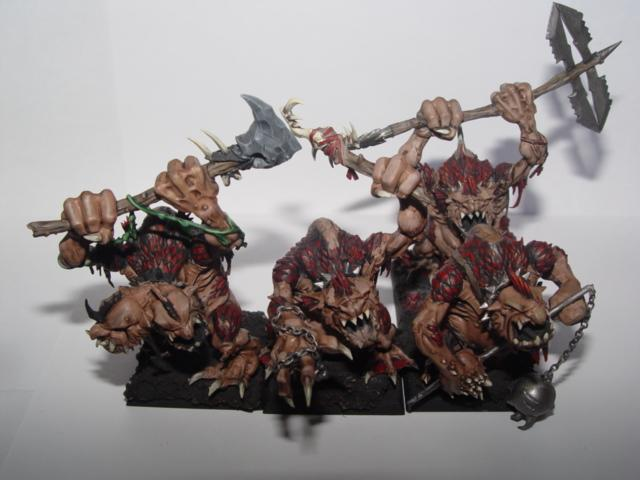 Chaos Troll Unit Front
