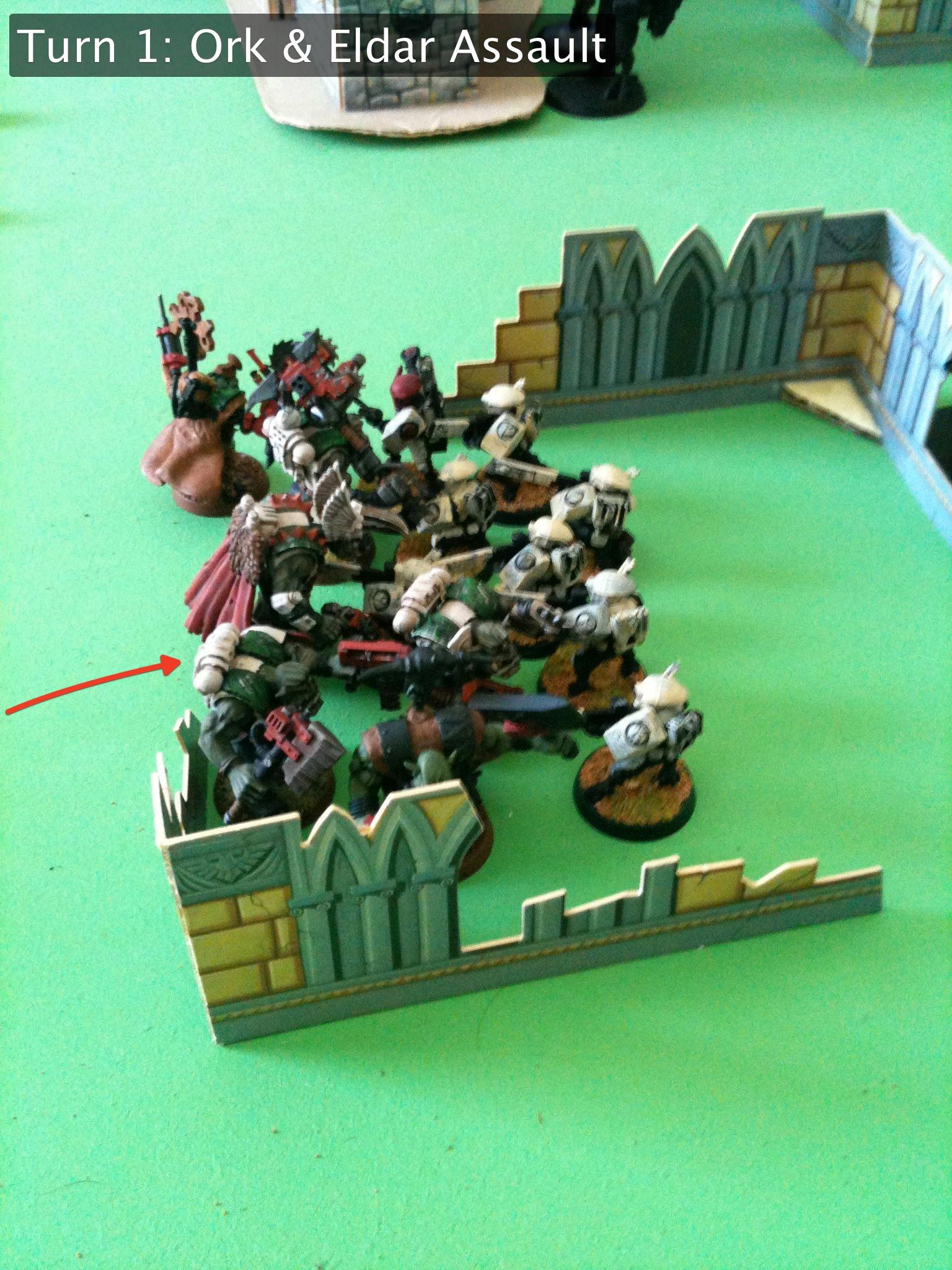 Battle Report, Eldar, Orks, Tau