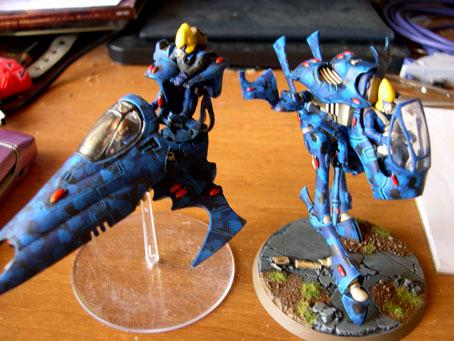 Eldar, Vehicle, Vyper, War Walker
