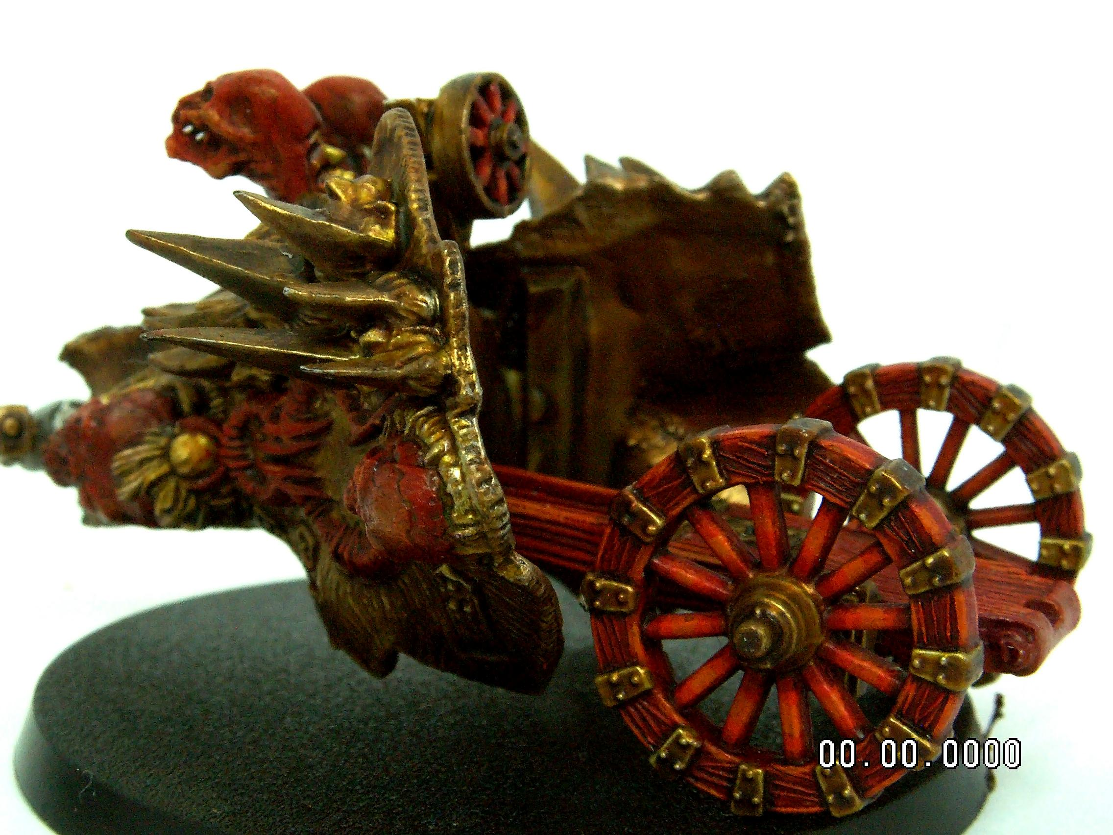 Chaos, Chaos Daemons, Chaos Space Marines, Chariot, Chariot Of Khorne, Conversion, Daemons, Herald, Herald Of Khorne, Warhammer 40,000