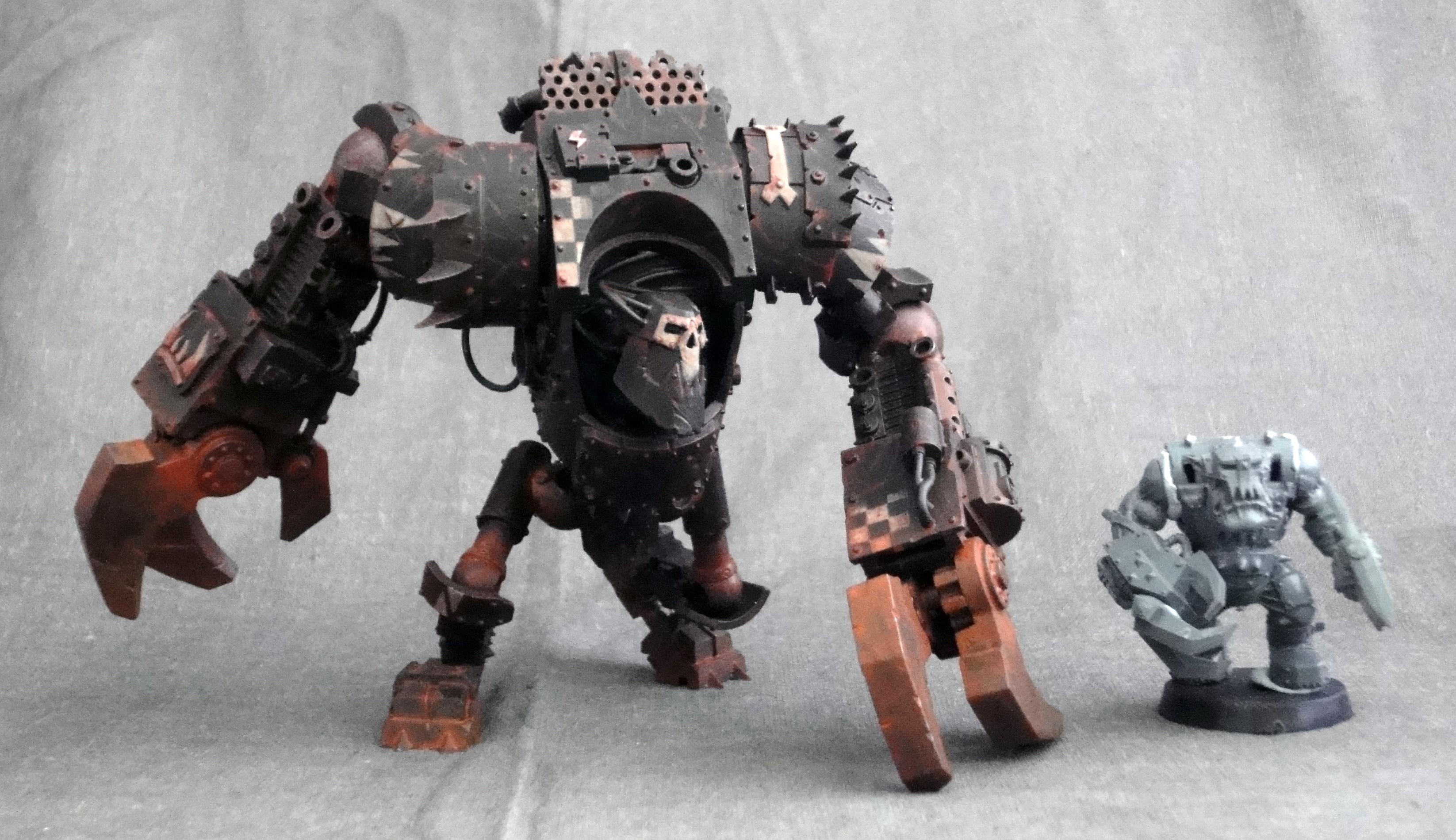 Bits, Conversion, Deff Dred, Iron, Orks