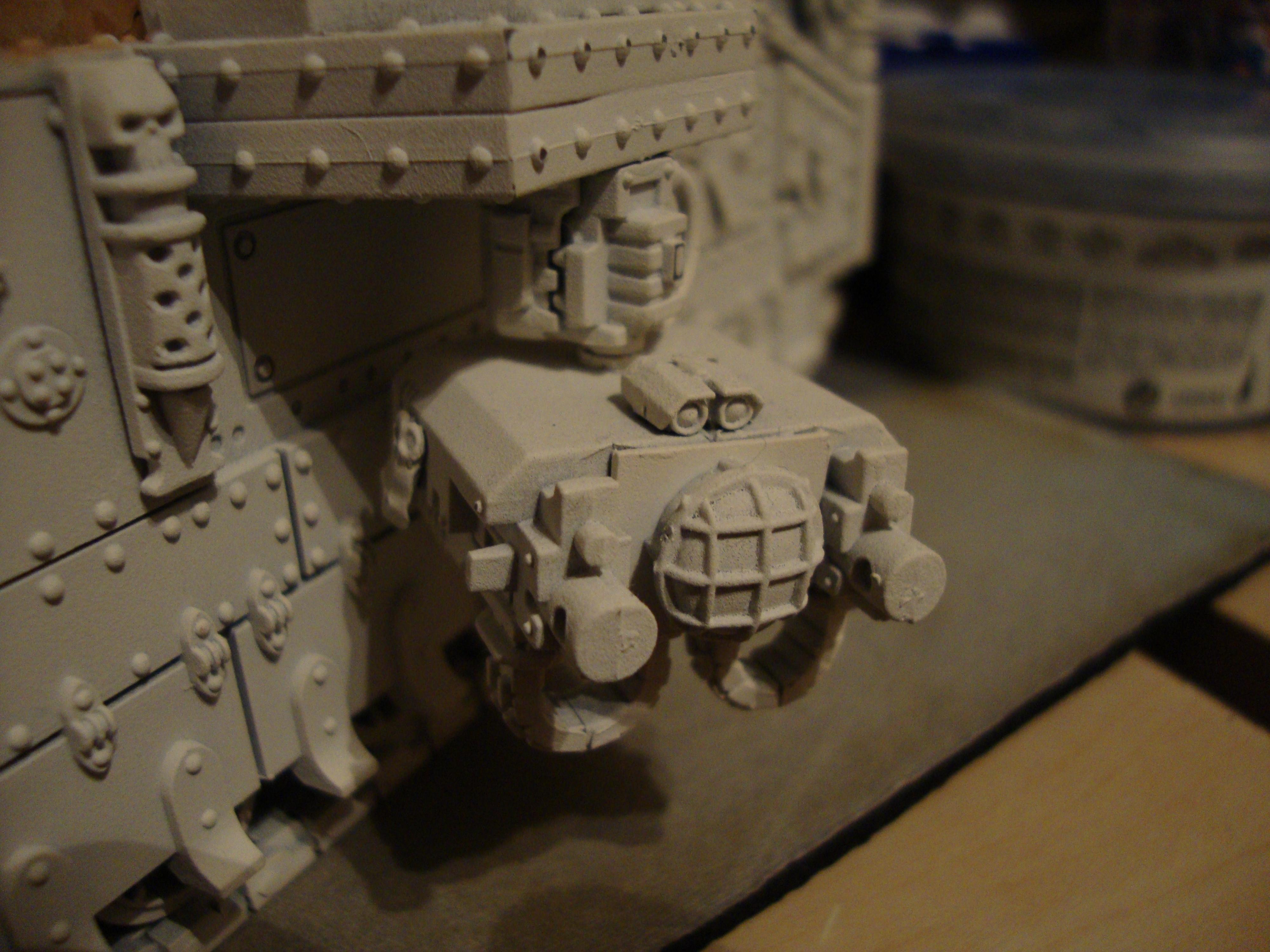 Baeblade, Detail, Primered, Tank, Unpainted, Warhammer 40,000