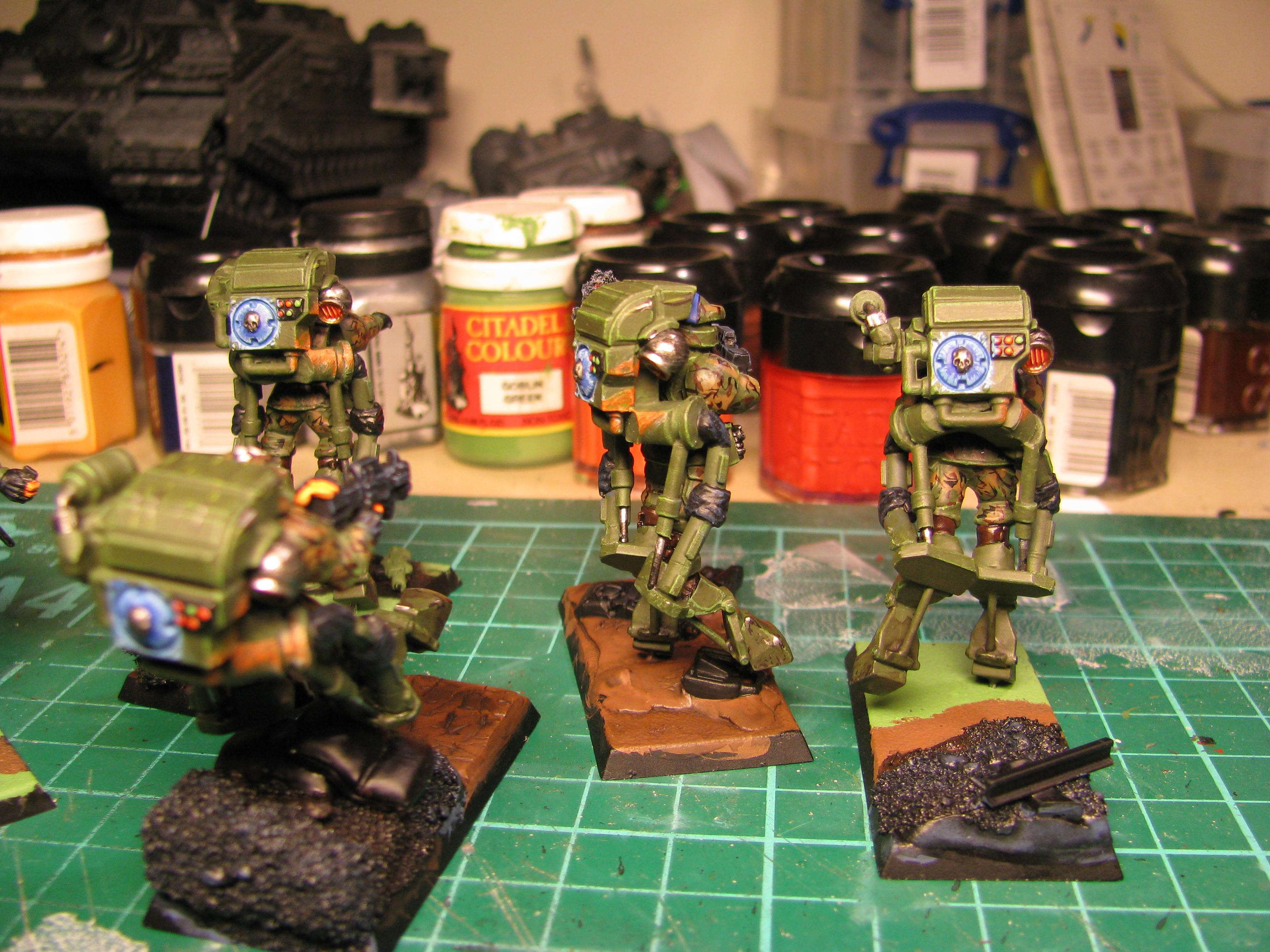 Conversion, Exo-suits, Guard, Rough Riders, Warhammer 40,000