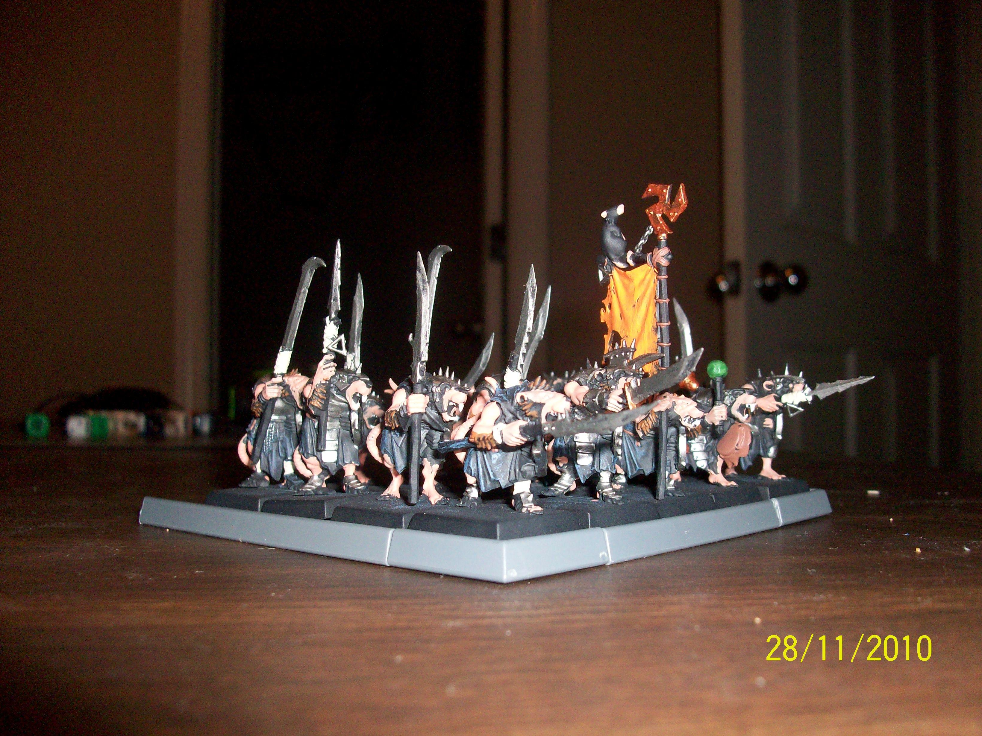 Clanrats, Skaven, Unit, Warhammer Fantasy