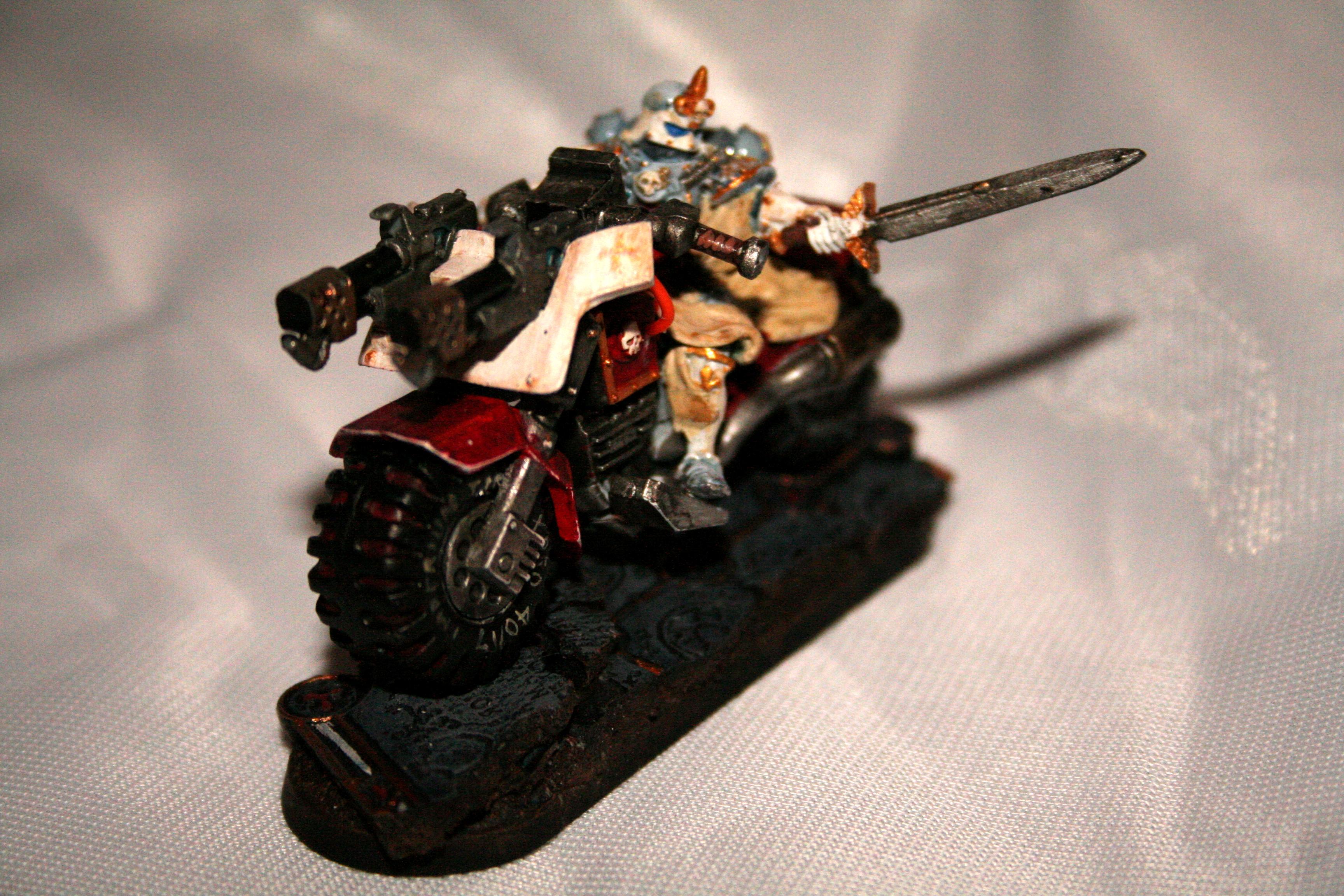Bike, Seraphim, Sisters Of Battle, Veteran Superior, Witch Hunters