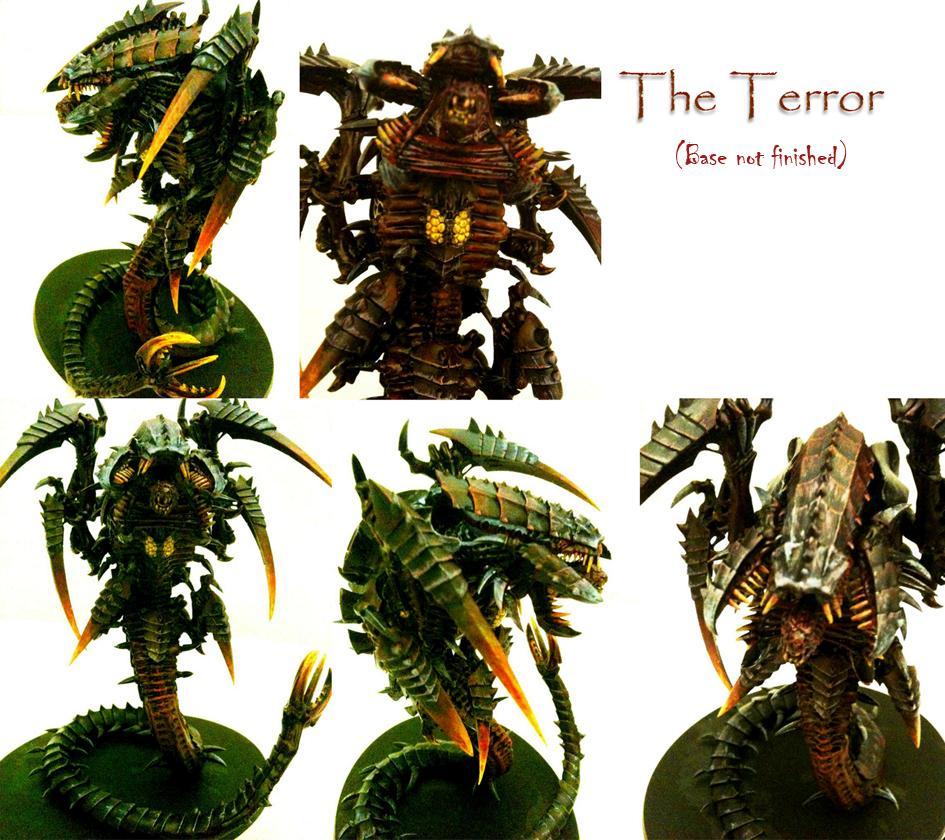 Conversion, Mawloc, Red, Terror, Trygon, Tyranids, Warhammer 40,000