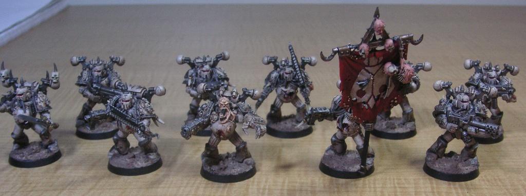 Chaos, Chaos Space Marines, Death Guard, Nurgle