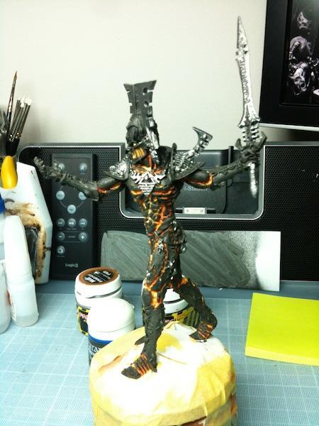 Alaitoc, Avatar, Eldar, Warhammer 40,000, Work In Progress