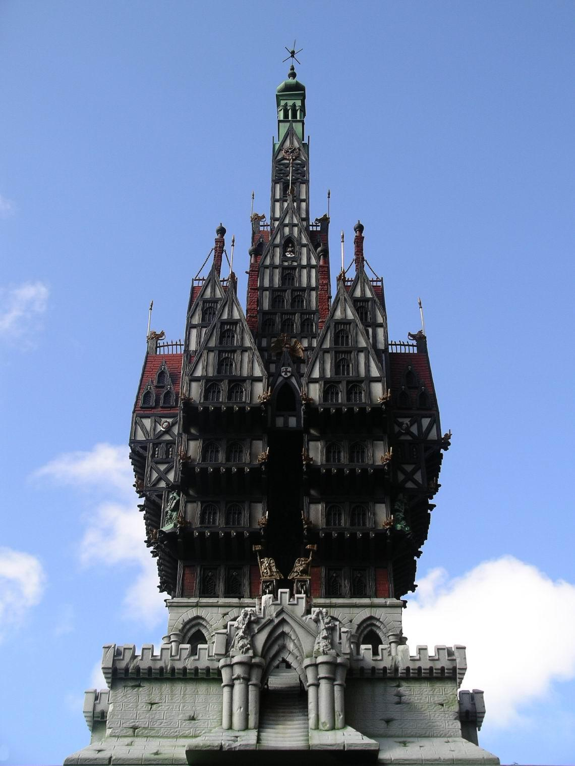 Buildings, Huge, Terrain, The Burgomeister's Mansion, The Burgomeisters Mansion, Warhammer Fantasy