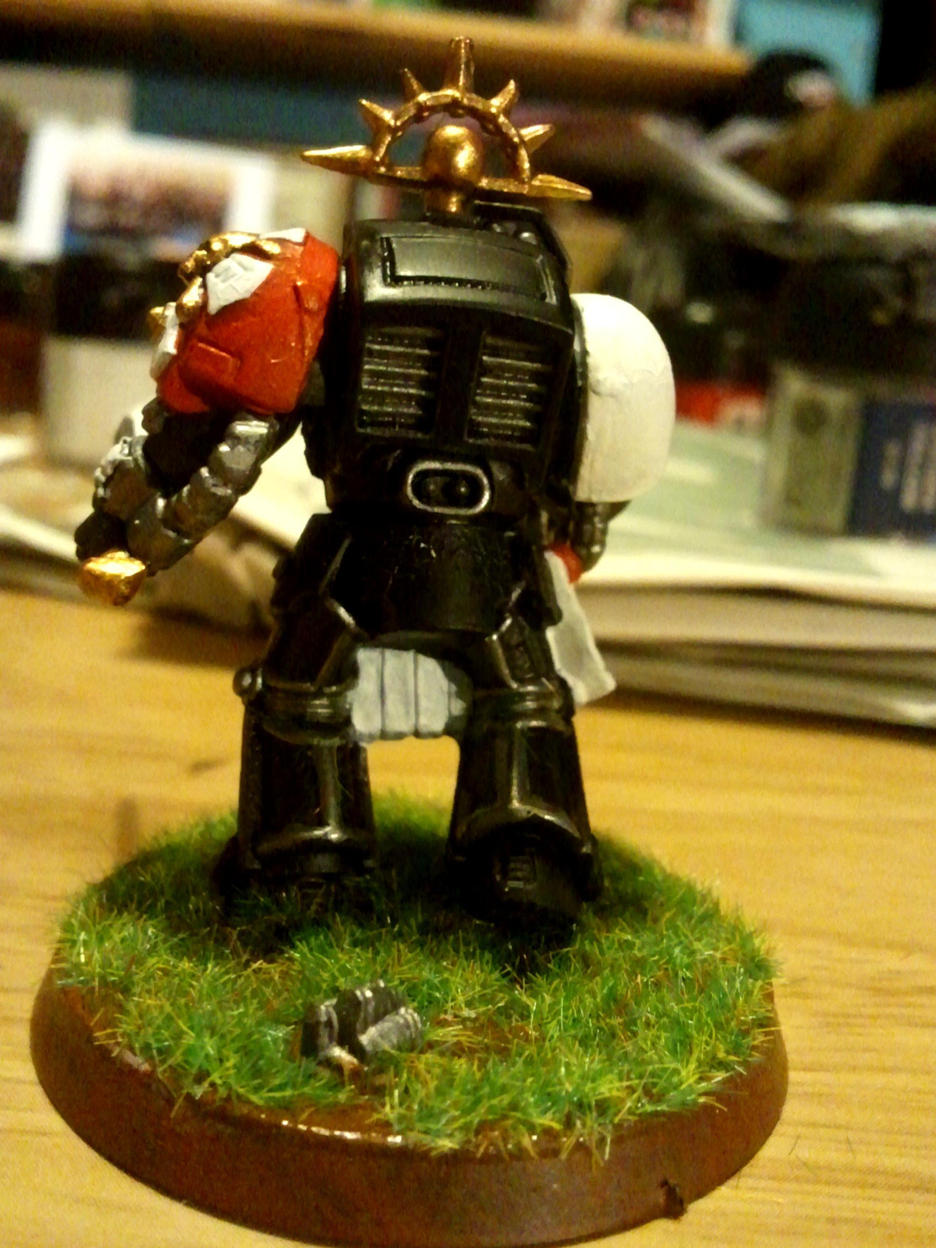 Black Templar Terminator Squad Leader (rear)