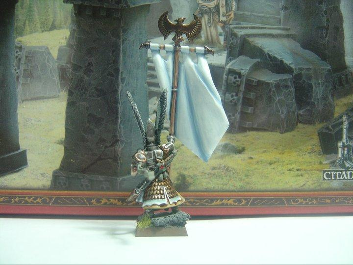 Banner, Flag, High Elves, Standard Bearer, Warhammer Fantasy
