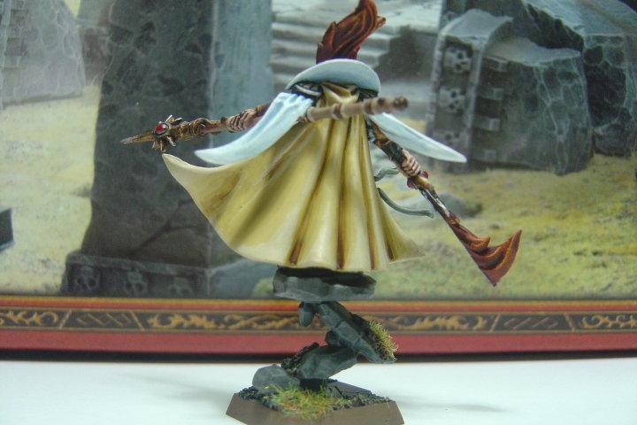 High Elves, Mage, Sorcerer, Warhammer Fantasy