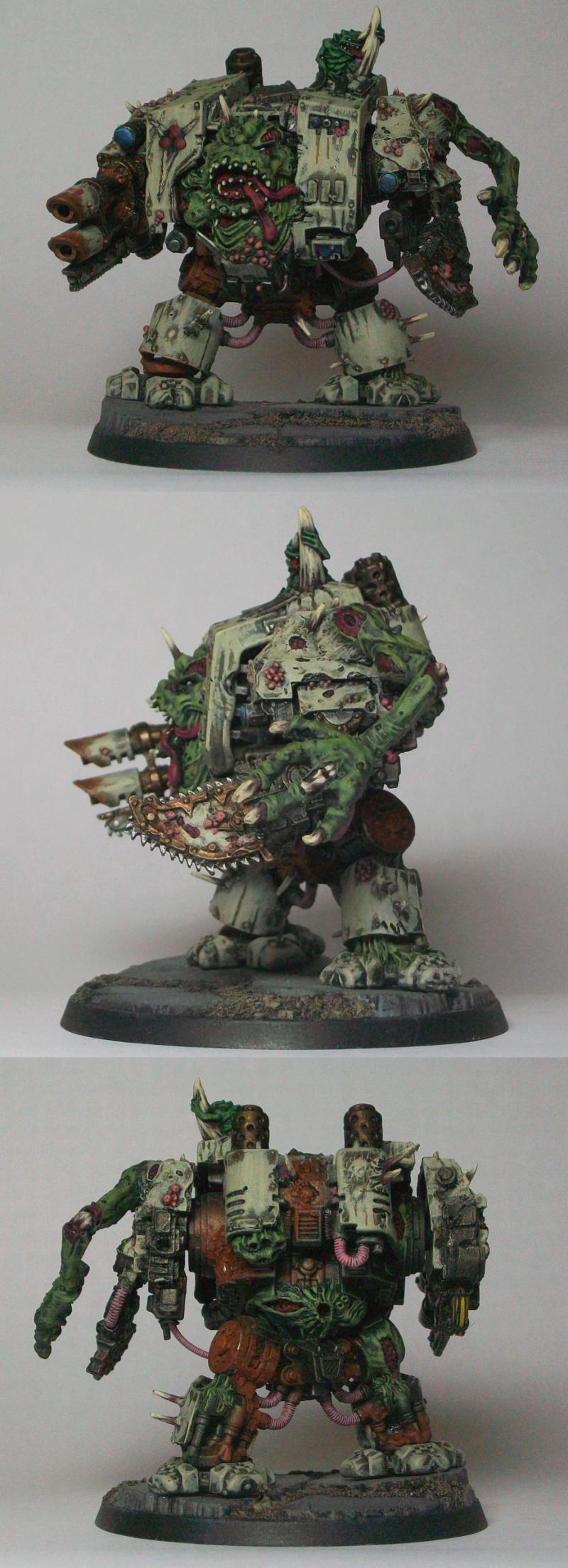 Chaos, Daemons, Dreadnought, Nurgle