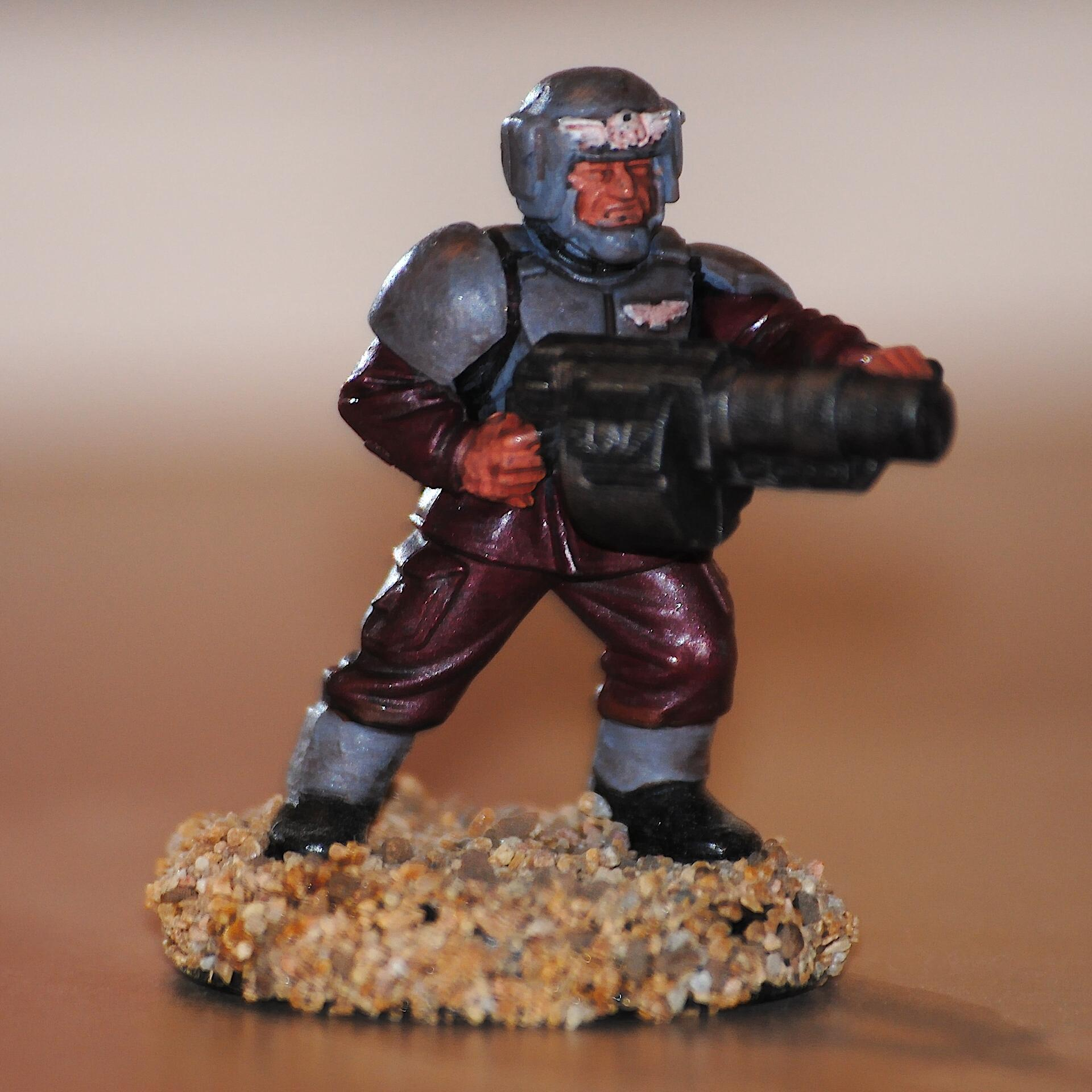 Cadians, Imperial Guard, Shock, Trooper