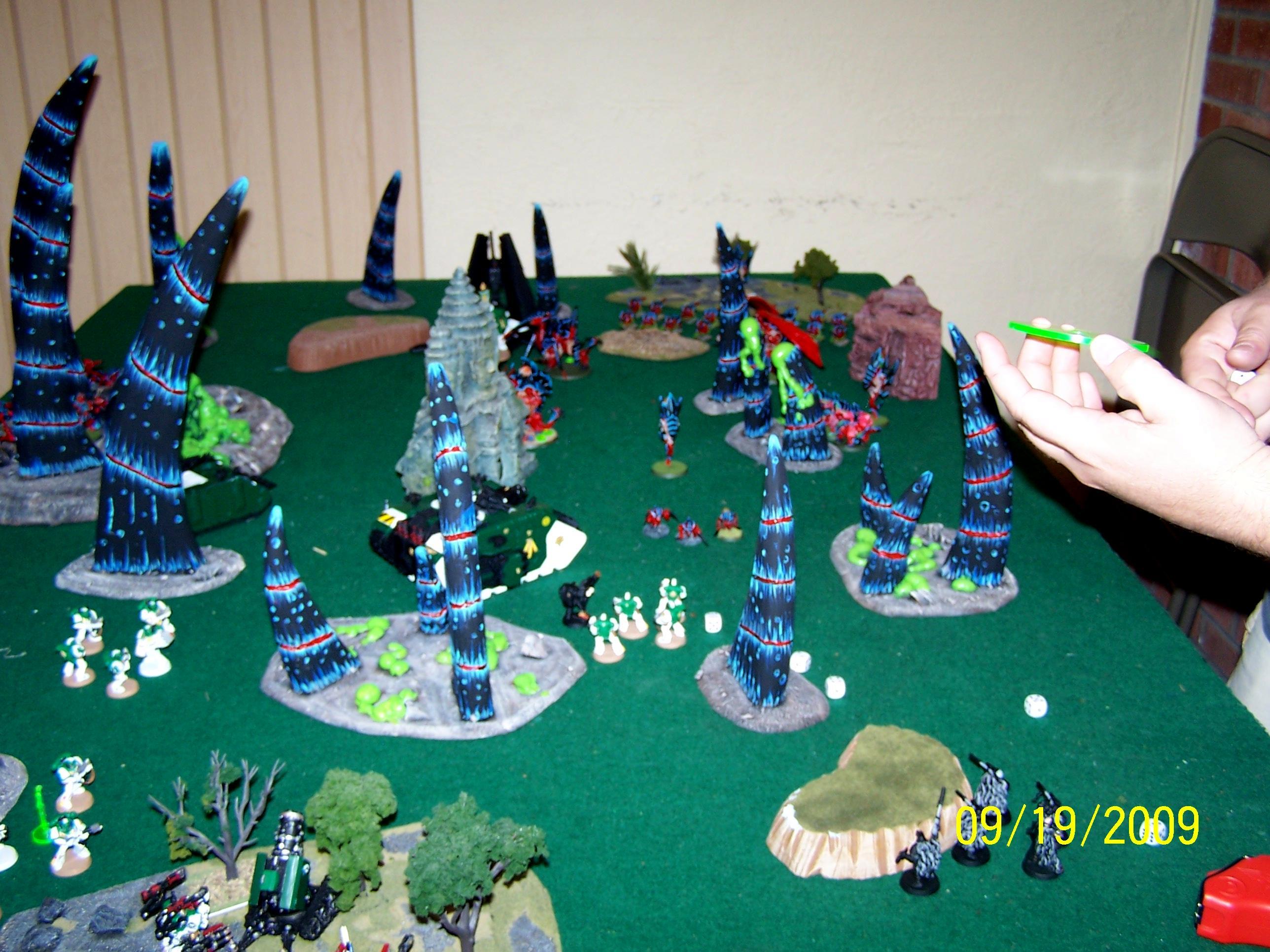 Spacemarine, Tyranids, Warhammer 40,000