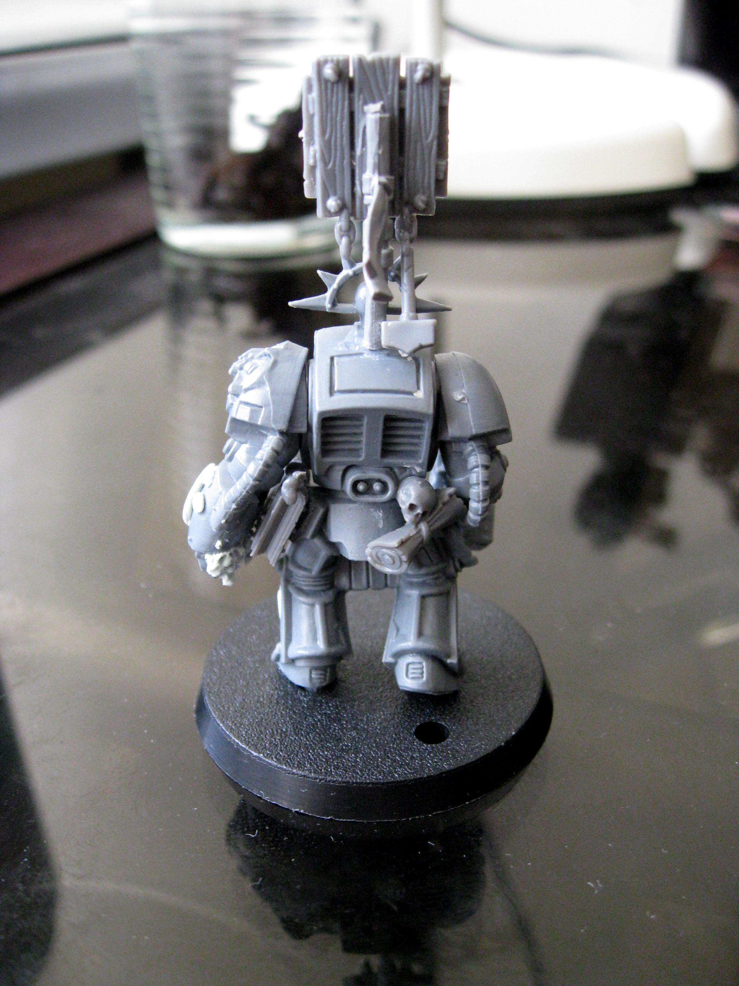 Force Weapon, Power Fist, Space Marines, Terminator Armor