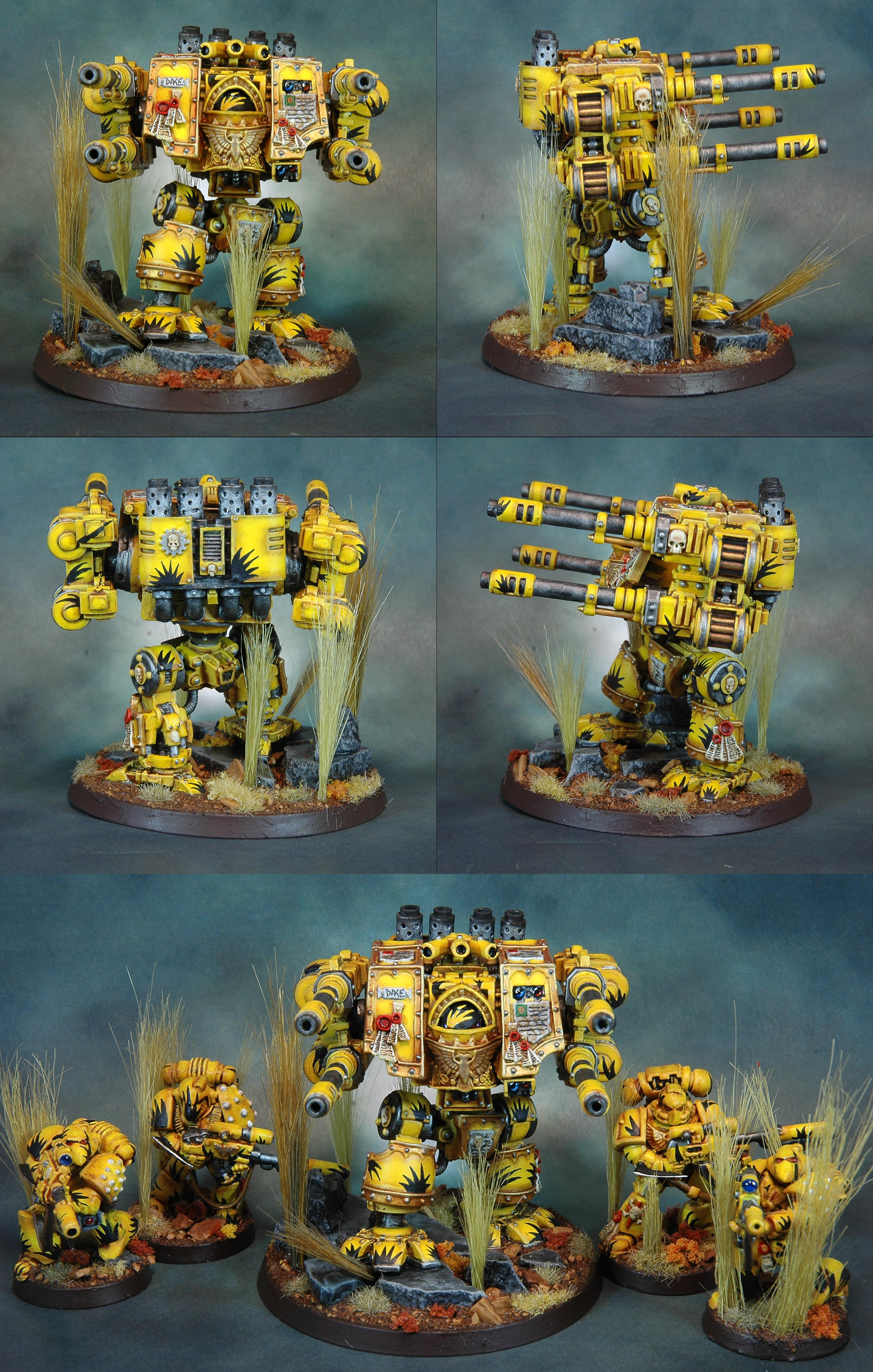 Dreadnought, Mantis Warriors, Space Marines, Tranquility, Venerable, Warhammer 40,000