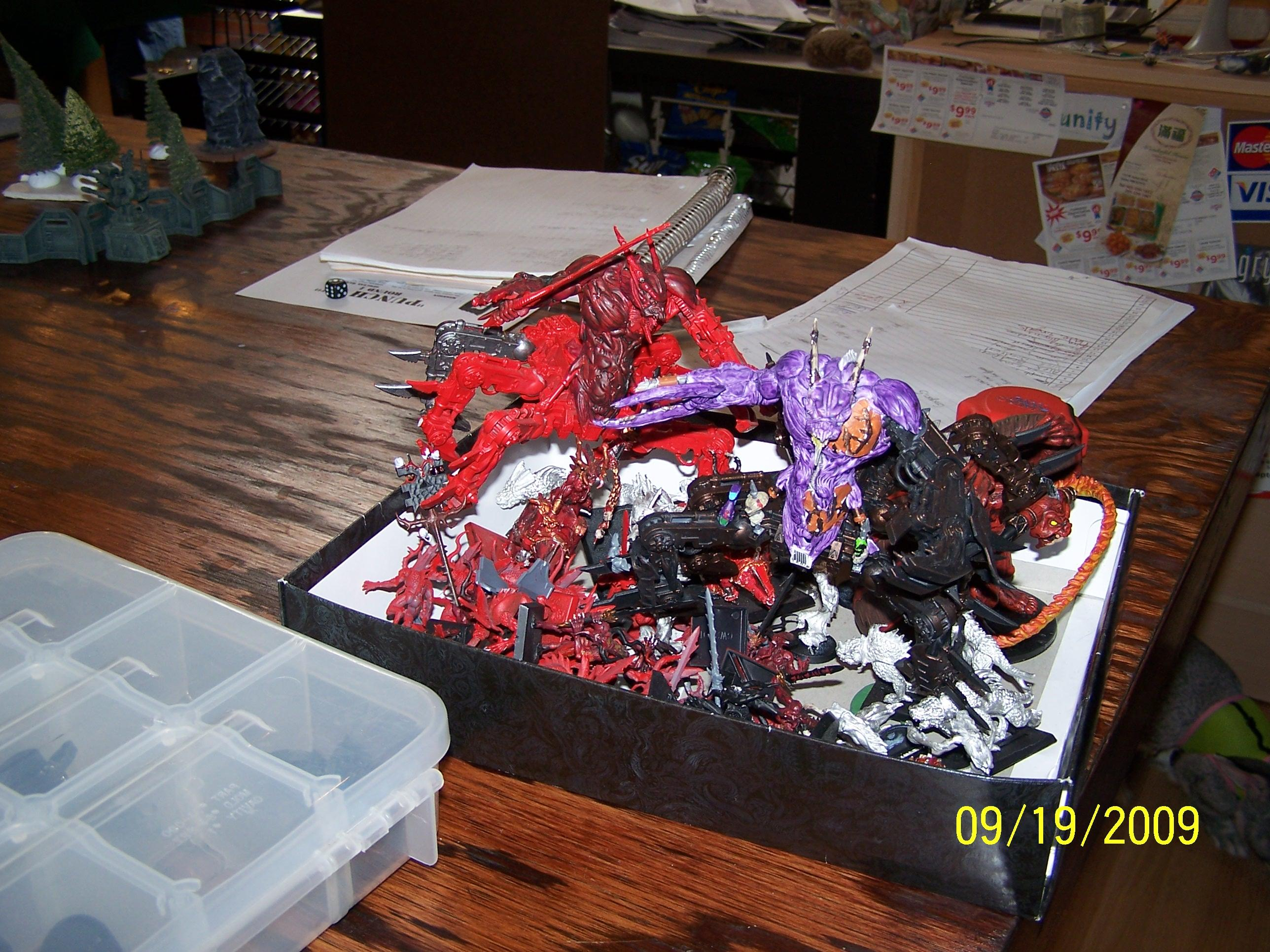 Chaos Daemons, Warhammer 40,000