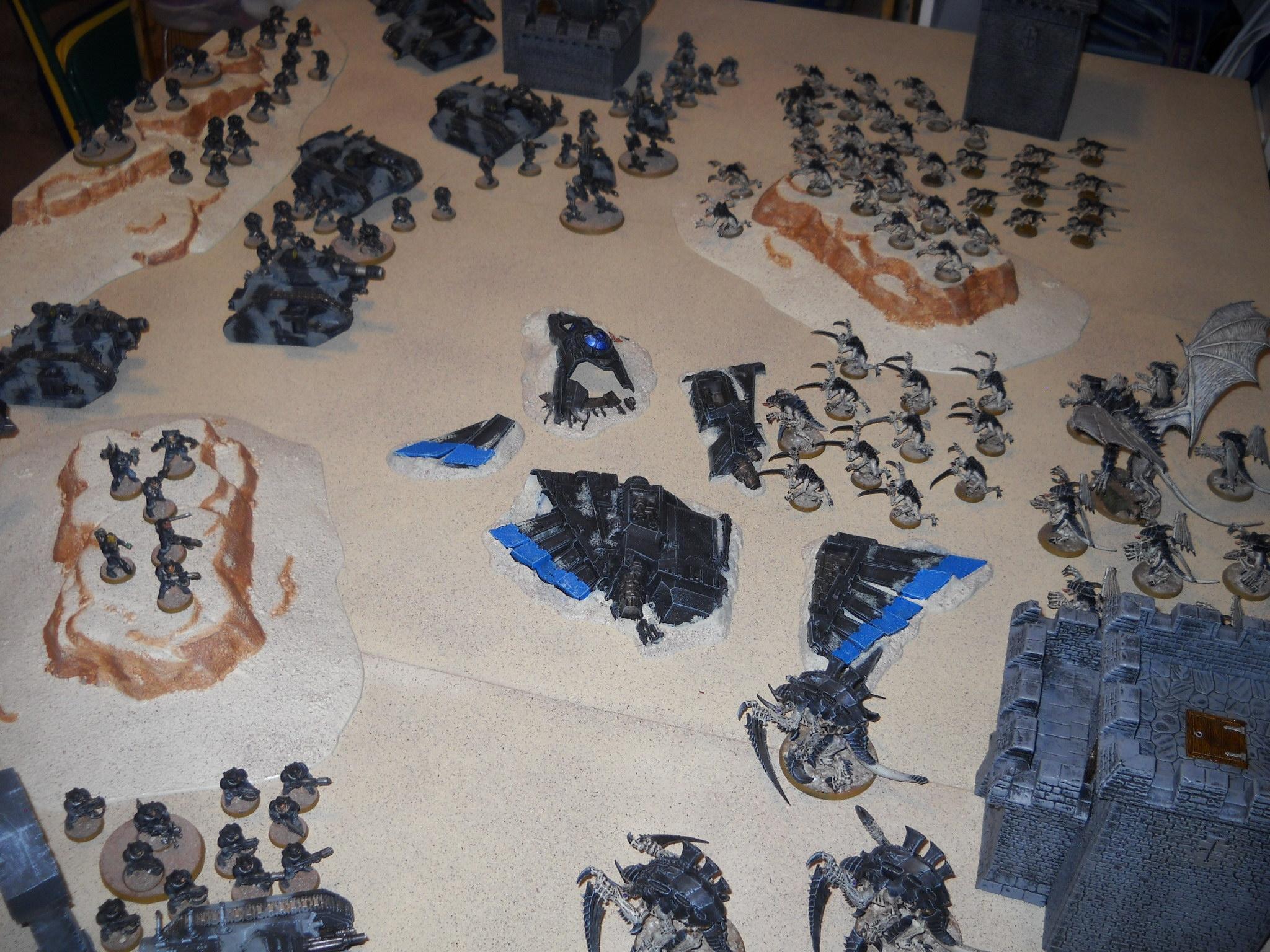 Game Table, Guard, Tabletop, Tyranids