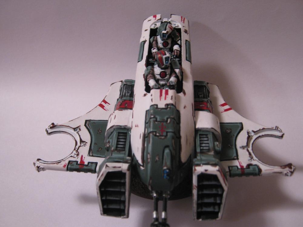 Battle Damage, Custom Base, Pirahna, Rebel, Renegade, Skimmer, Tau, Warhammer 40,000