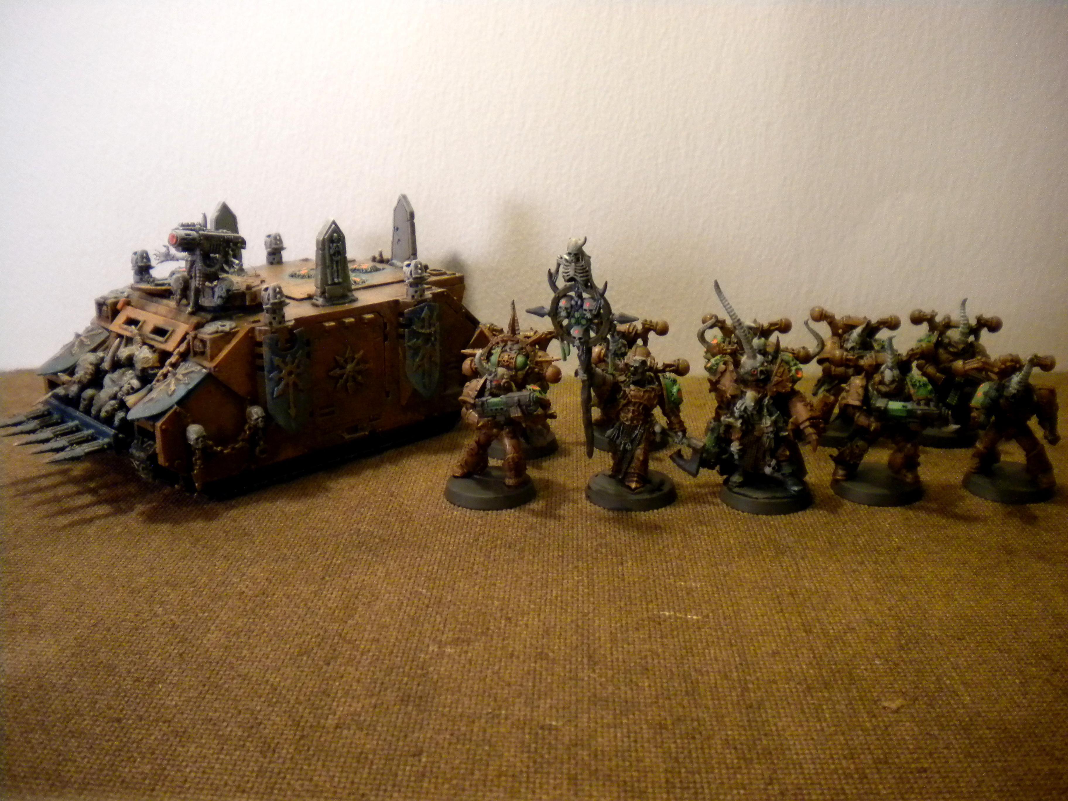 Chaos Space Marines, Death Guard, Nurgle, Warhammer 40,000