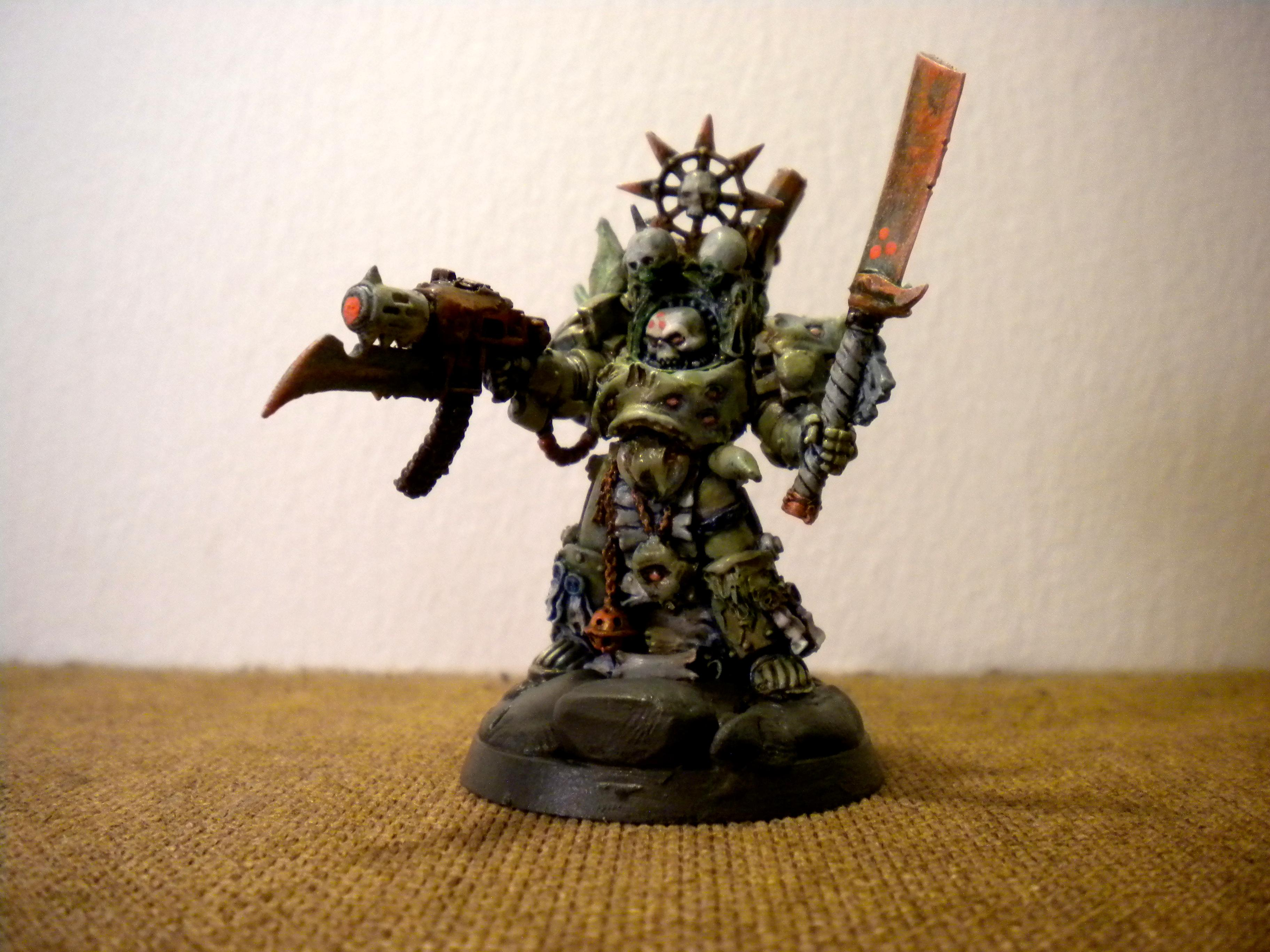 Chaos Space Marines, Death Guard, Nurgle, Warhammer 40,000