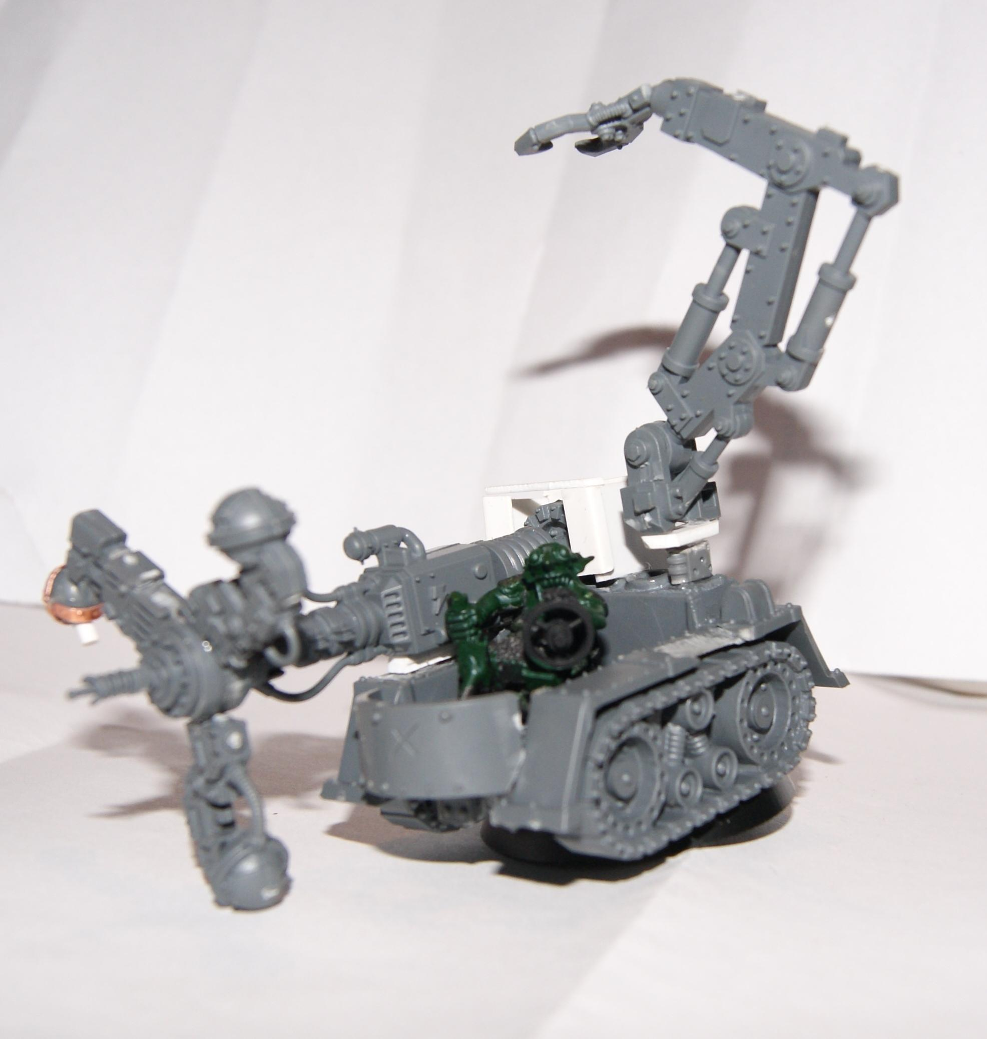 Conversion, Grot Rebellion, Grot Rebels, Shokk Attak Gun, Warhammer 40,000, Work In Progress