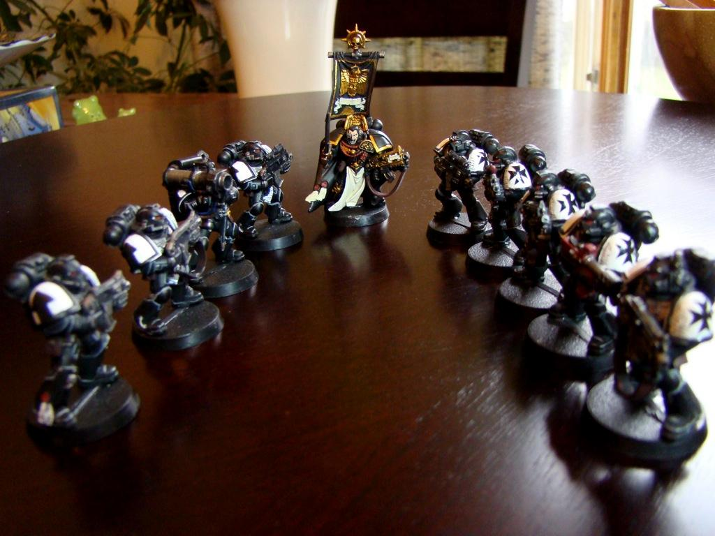 Black Templars, Blackreach, Blacktemplars, Captain, Dereadnought, Spacemarine, Terminator Armor