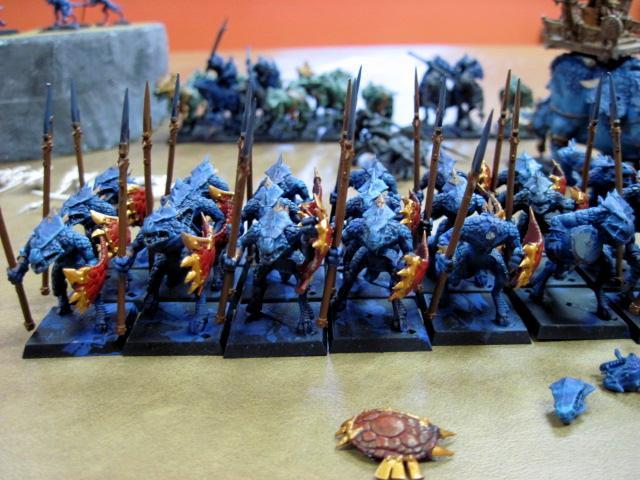 Lizardmen, Saurus Warriors