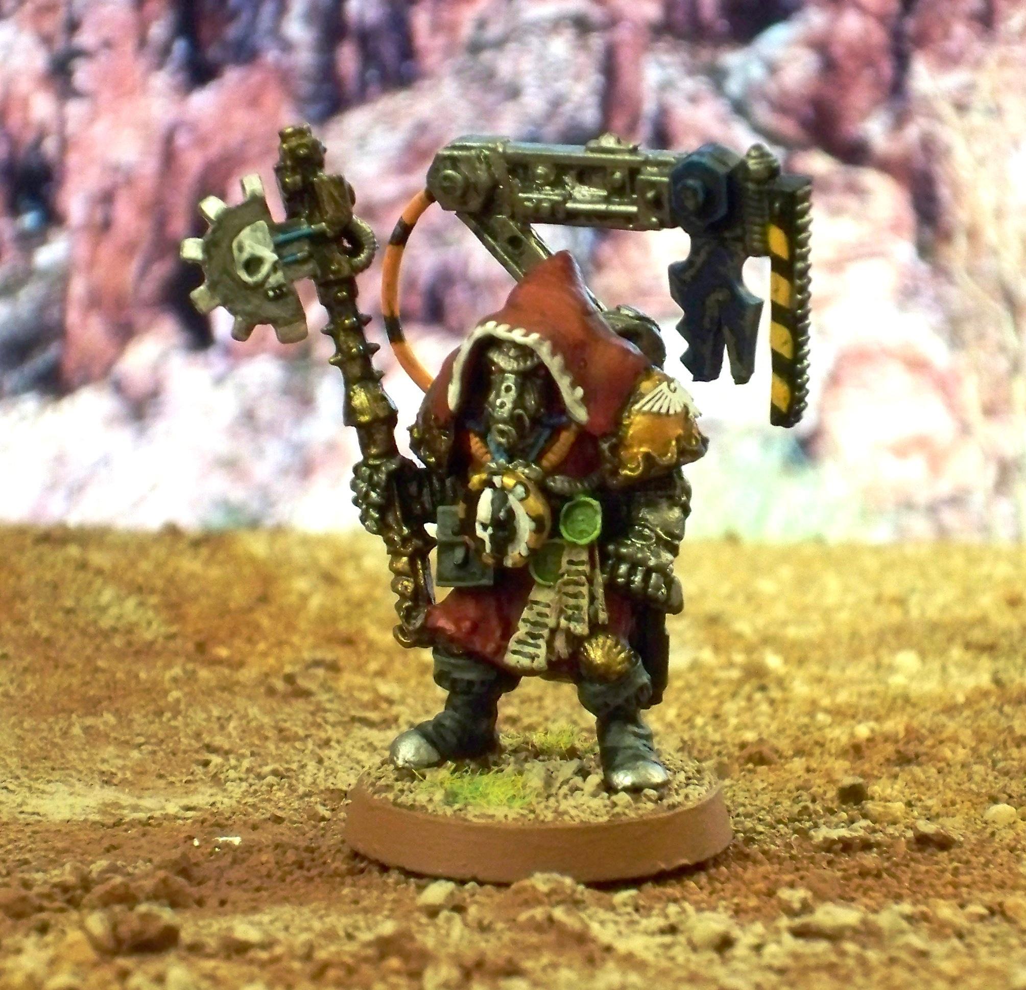 Adeptus Mechanicus, Enginseer, Imperial, Rogue Trader, Tech Priest